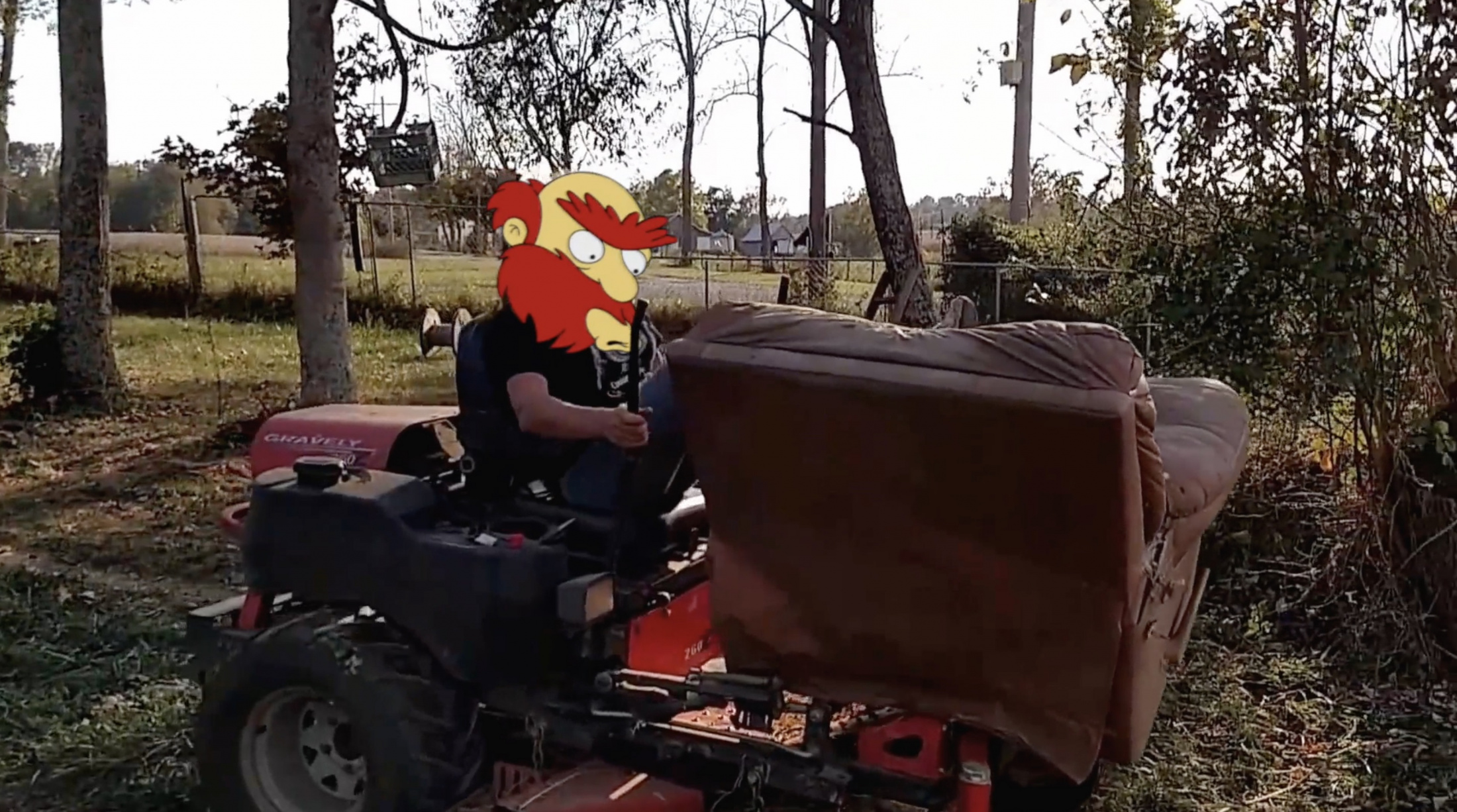 Thumbnail for The Simpsons - Tractor Willie