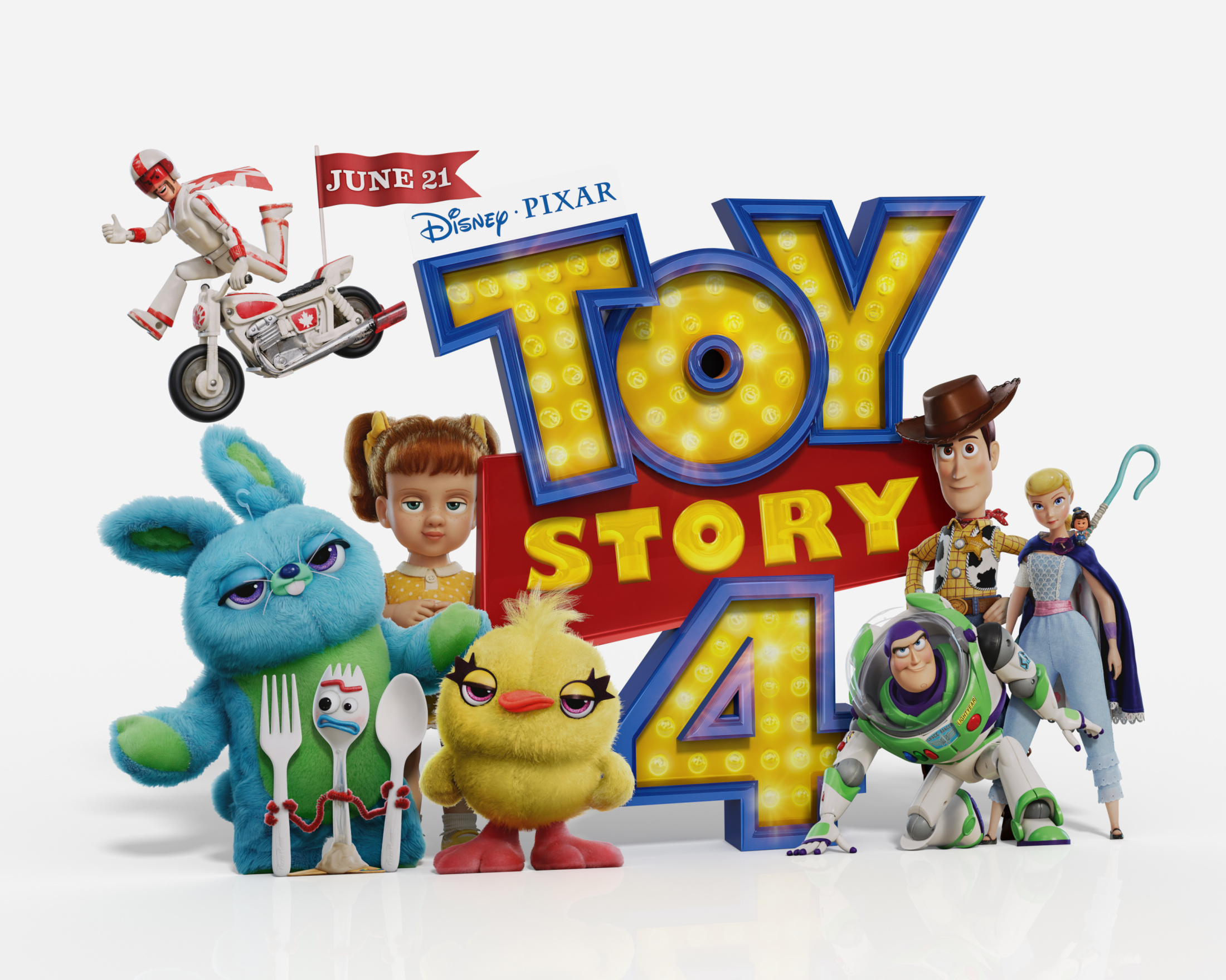 Thumbnail for Toy Story 4 In-Theatre Standee