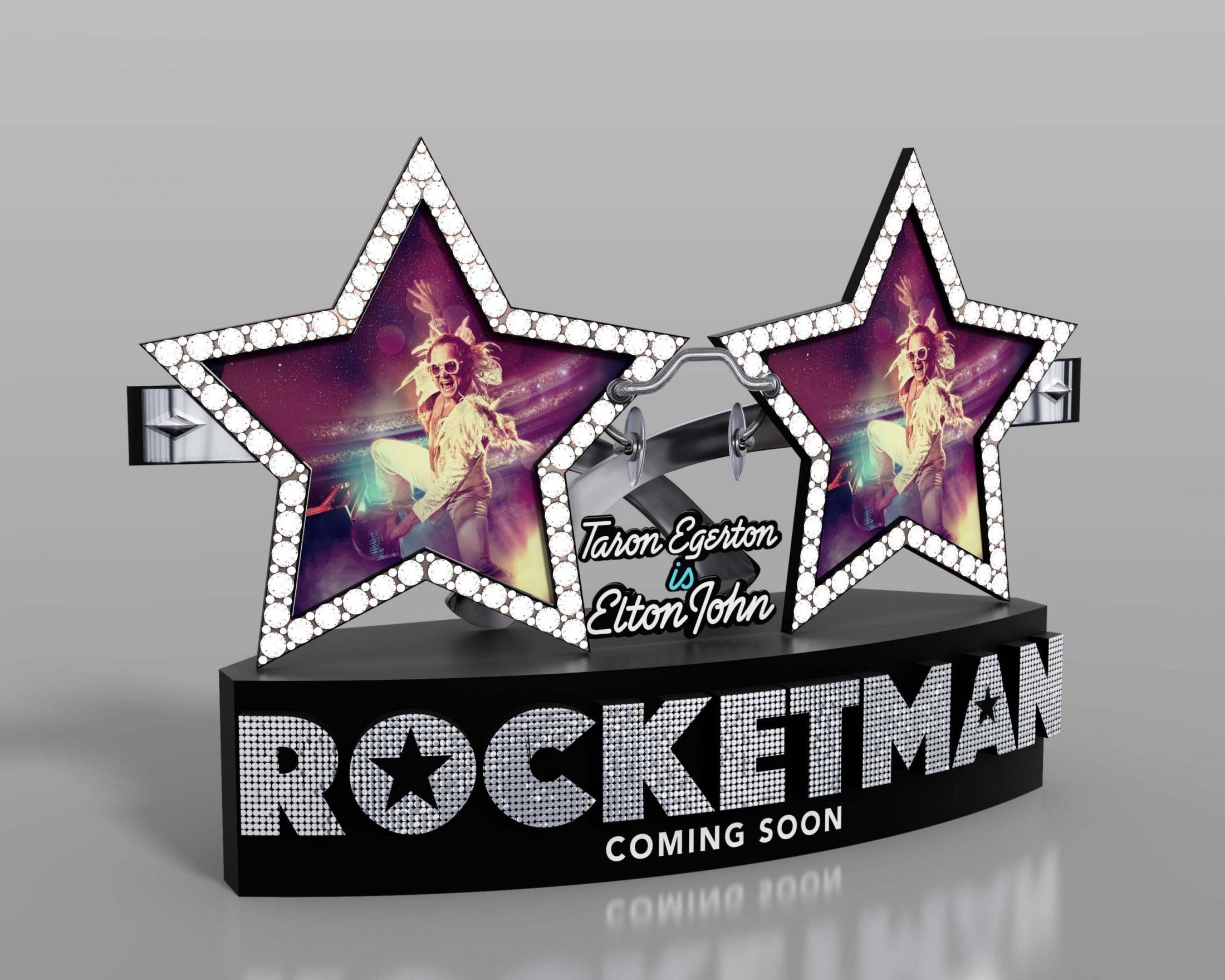 Thumbnail for Rocketman International In-Theatre Standee
