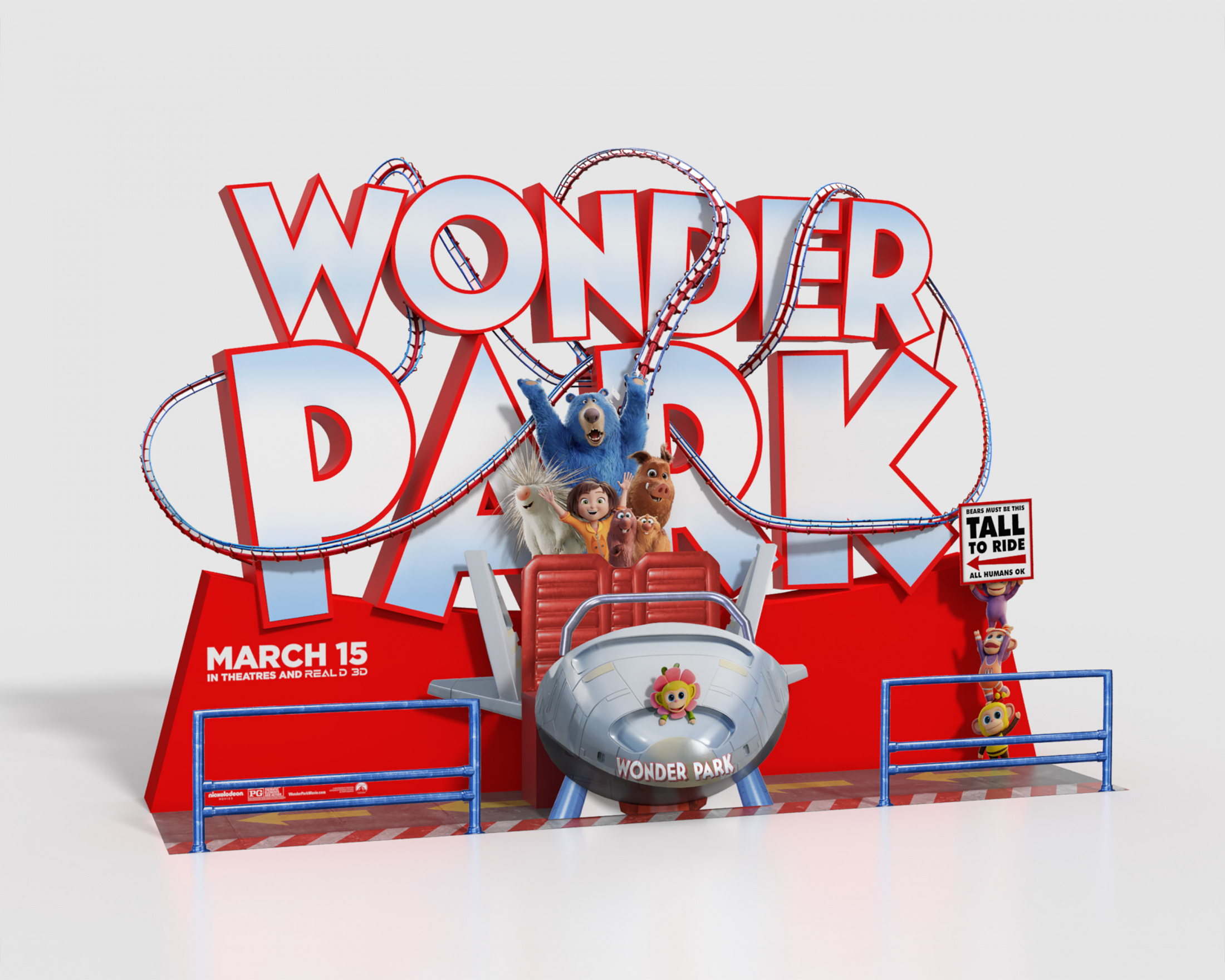 Image Media for Wonder Park In-Theatre Standee