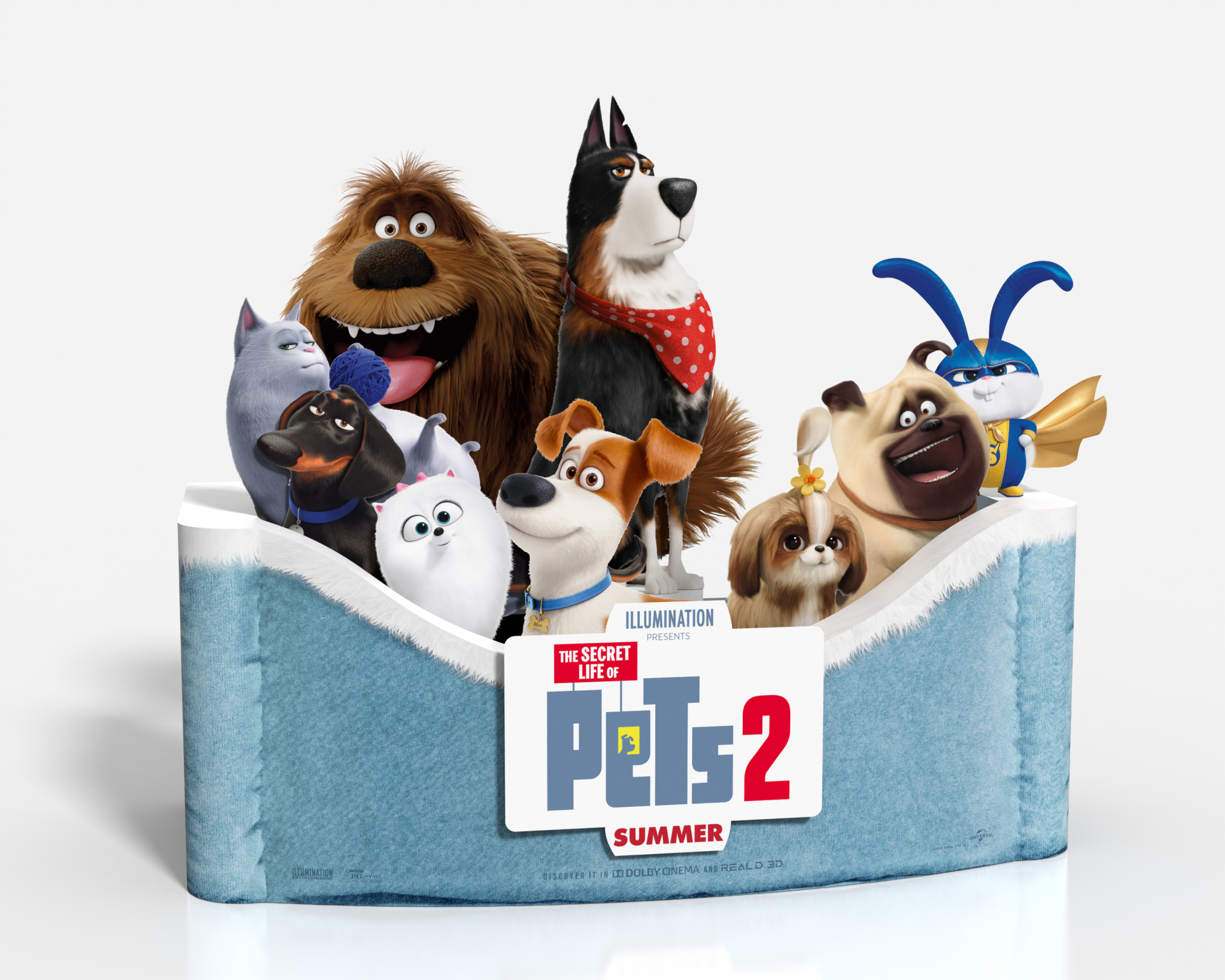 Thumbnail for The Secret Life of Pets 2 In-Theatre Standee