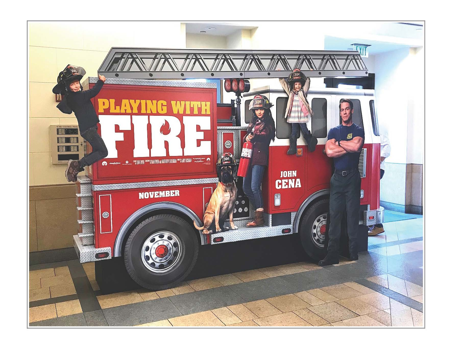 Thumbnail for Fire Truck - Spectacular Standee