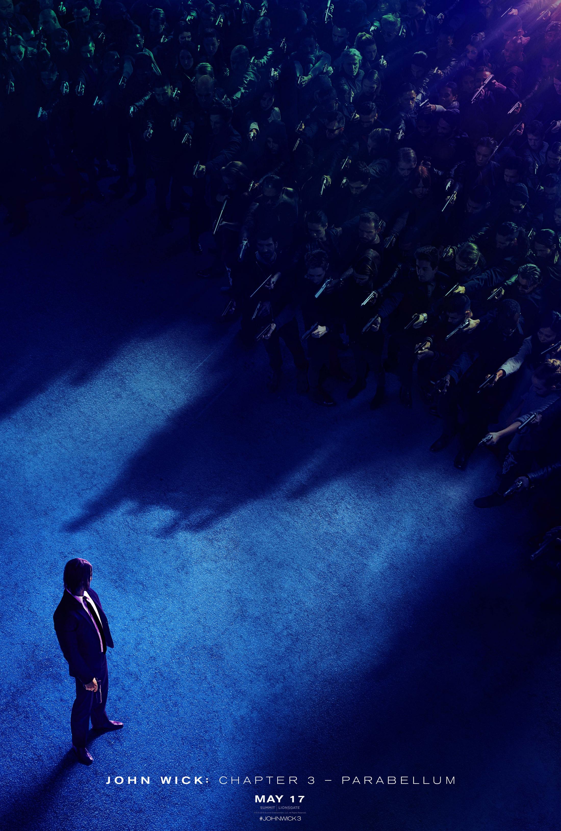 Thumbnail for JOHN WICK CHAPTER 3: PARABELLUM Teaser One-Sheet
