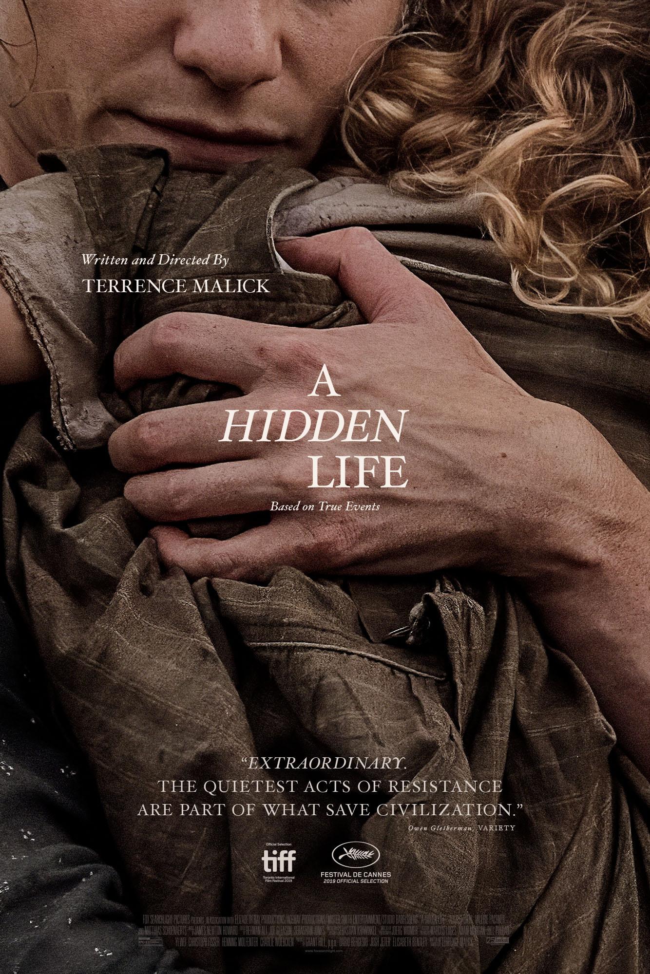 Thumbnail for A Hidden Life One-Sheet