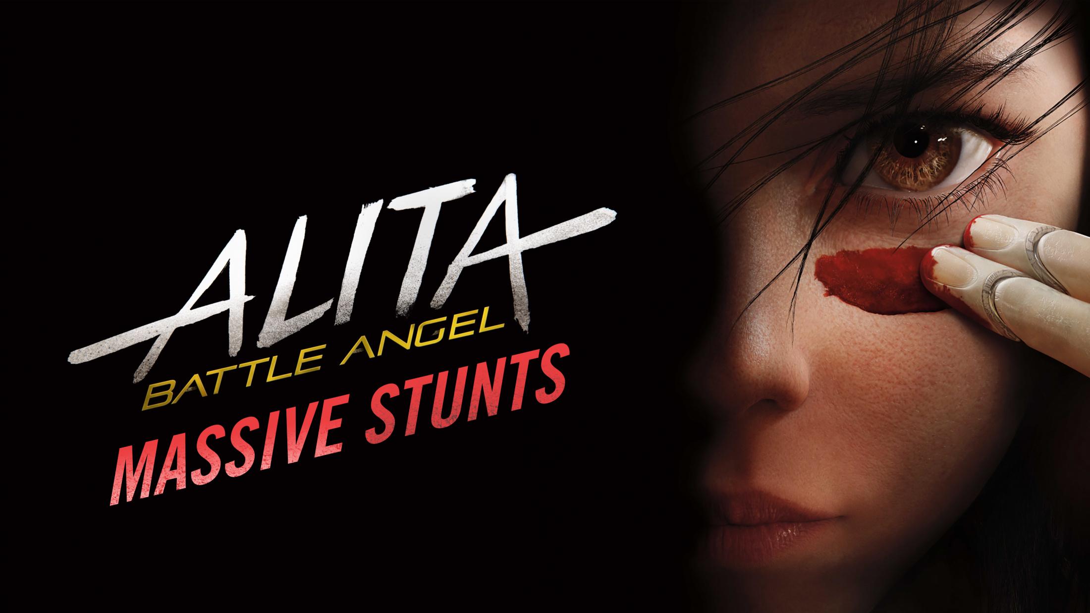 Thumbnail for ALITA BATTLE ANGEL MASSIVE STUNTS