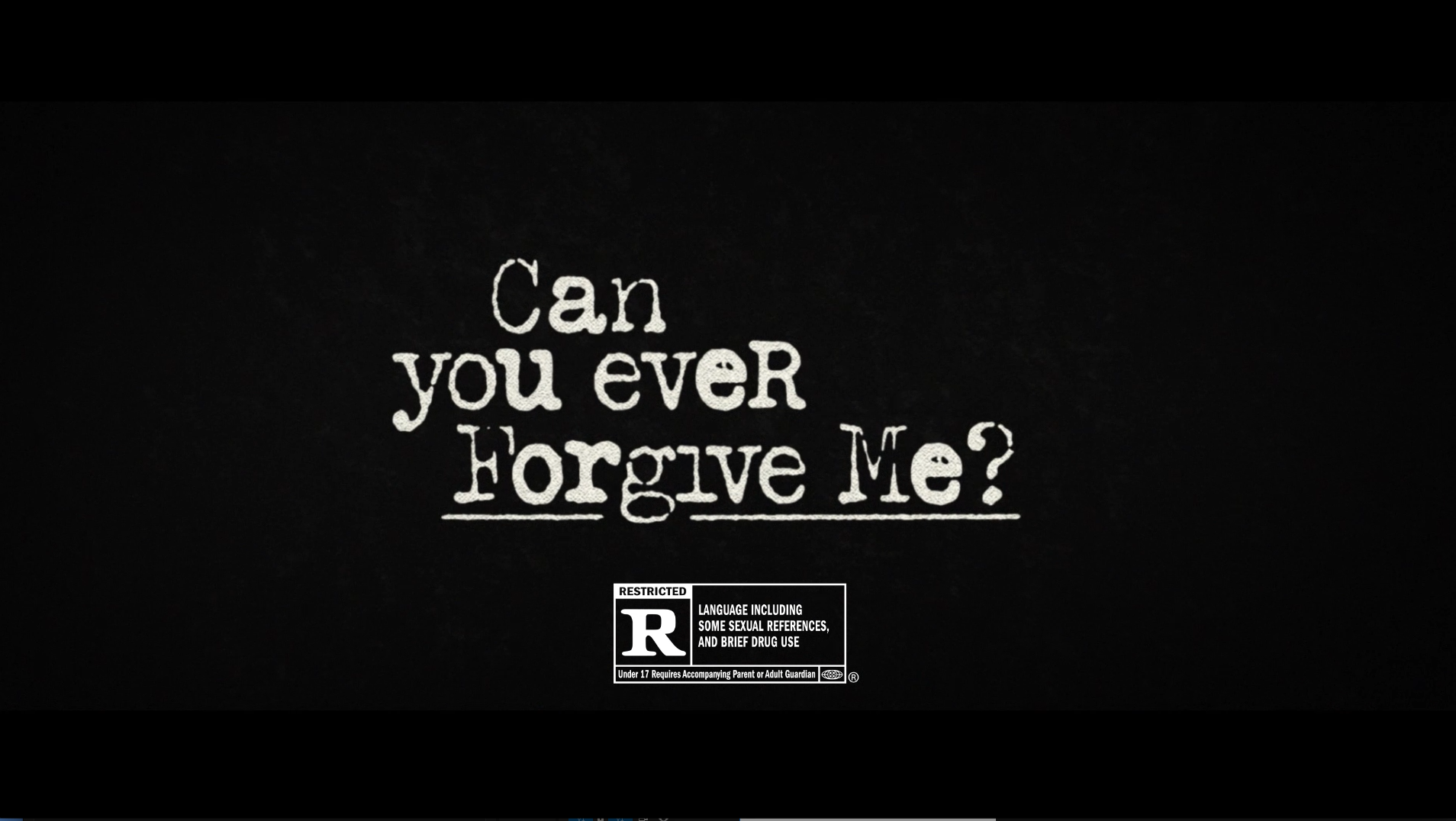 Thumbnail for Can You Ever Forgive Me?