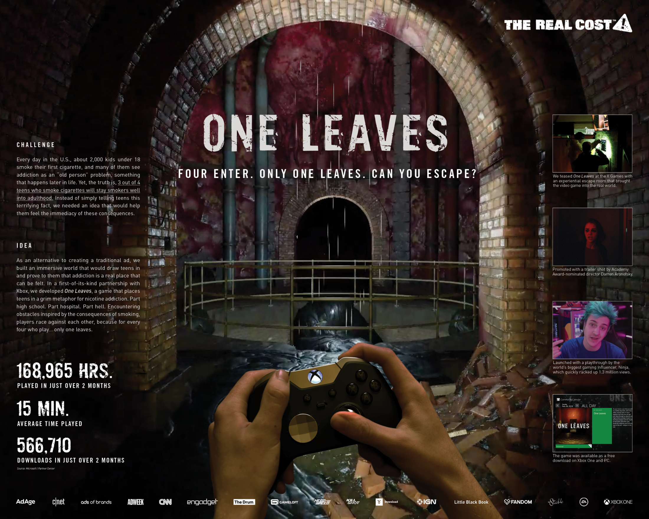 The Real cost - One Leaves Thumbnail