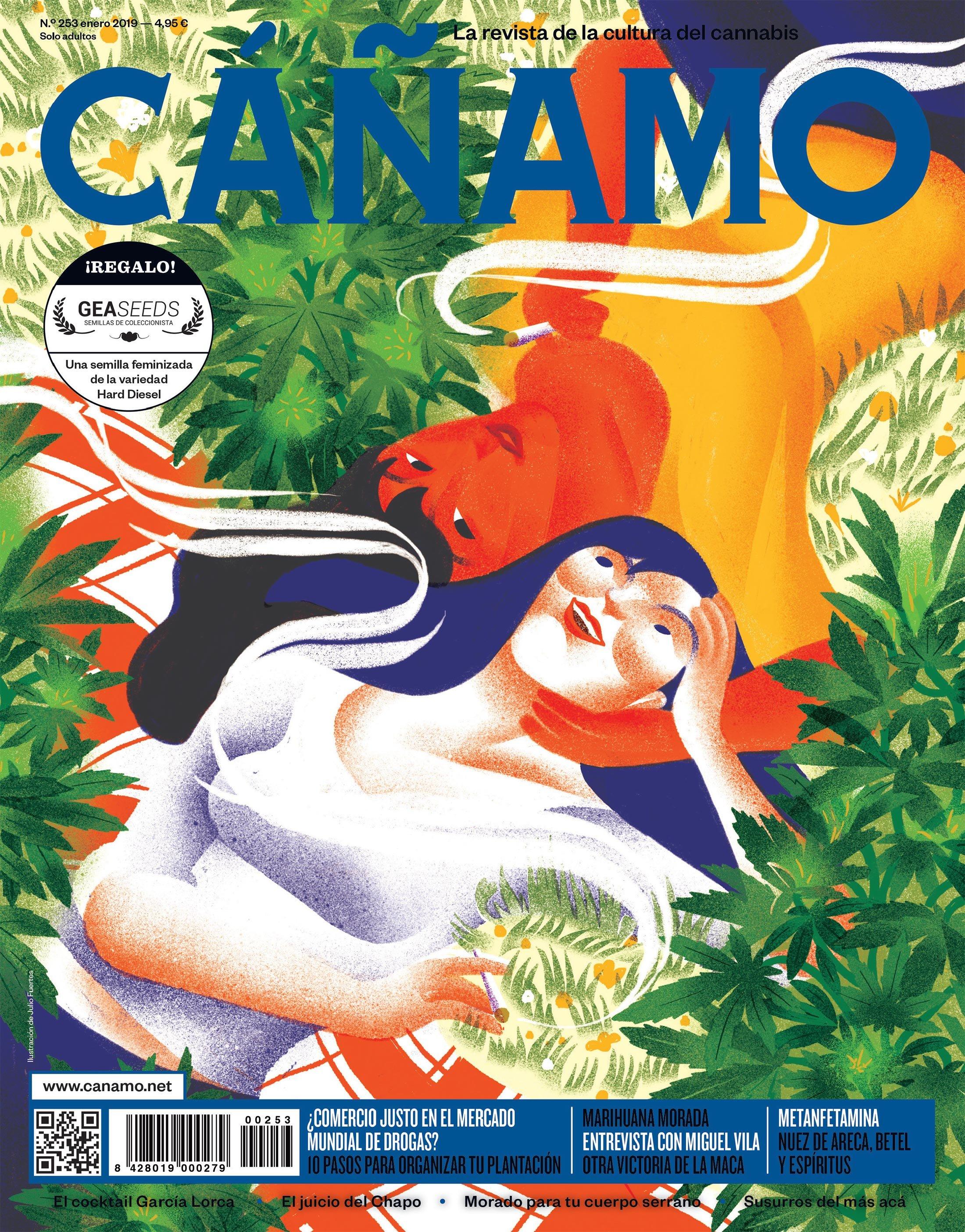 CÁÑAMO: CÁÑAMO. La revista de la cultura del cannabis.