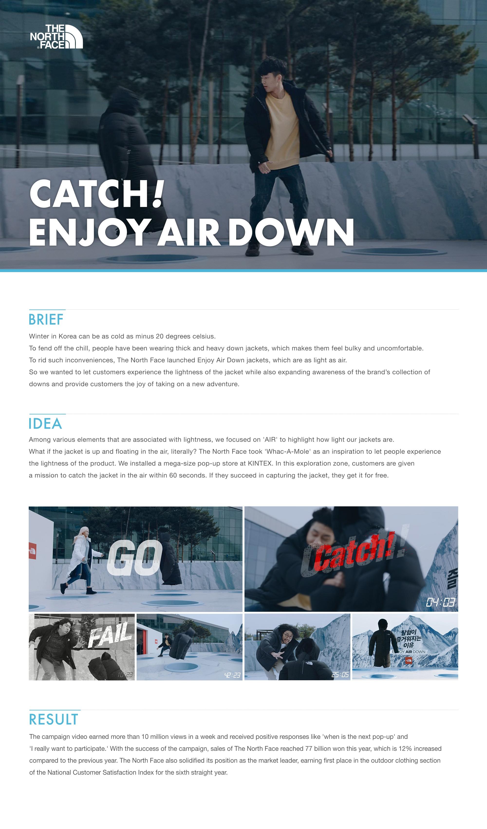 Thumbnail for CATCH! ENJOY AIR DOWN