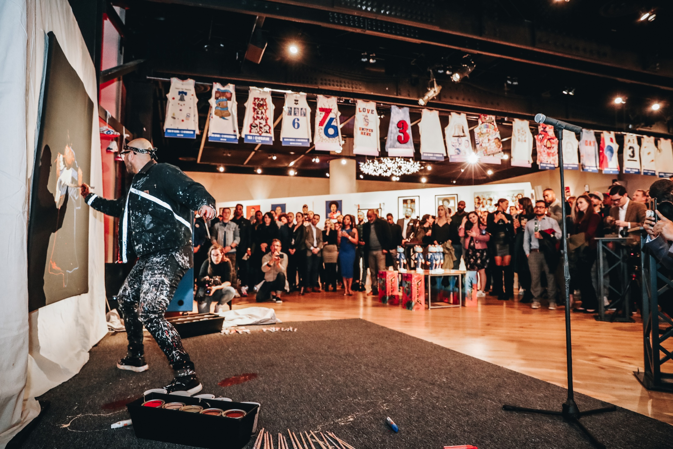 Thumbnail for 76ers Crossover - Art Exhibition presented by Reebok