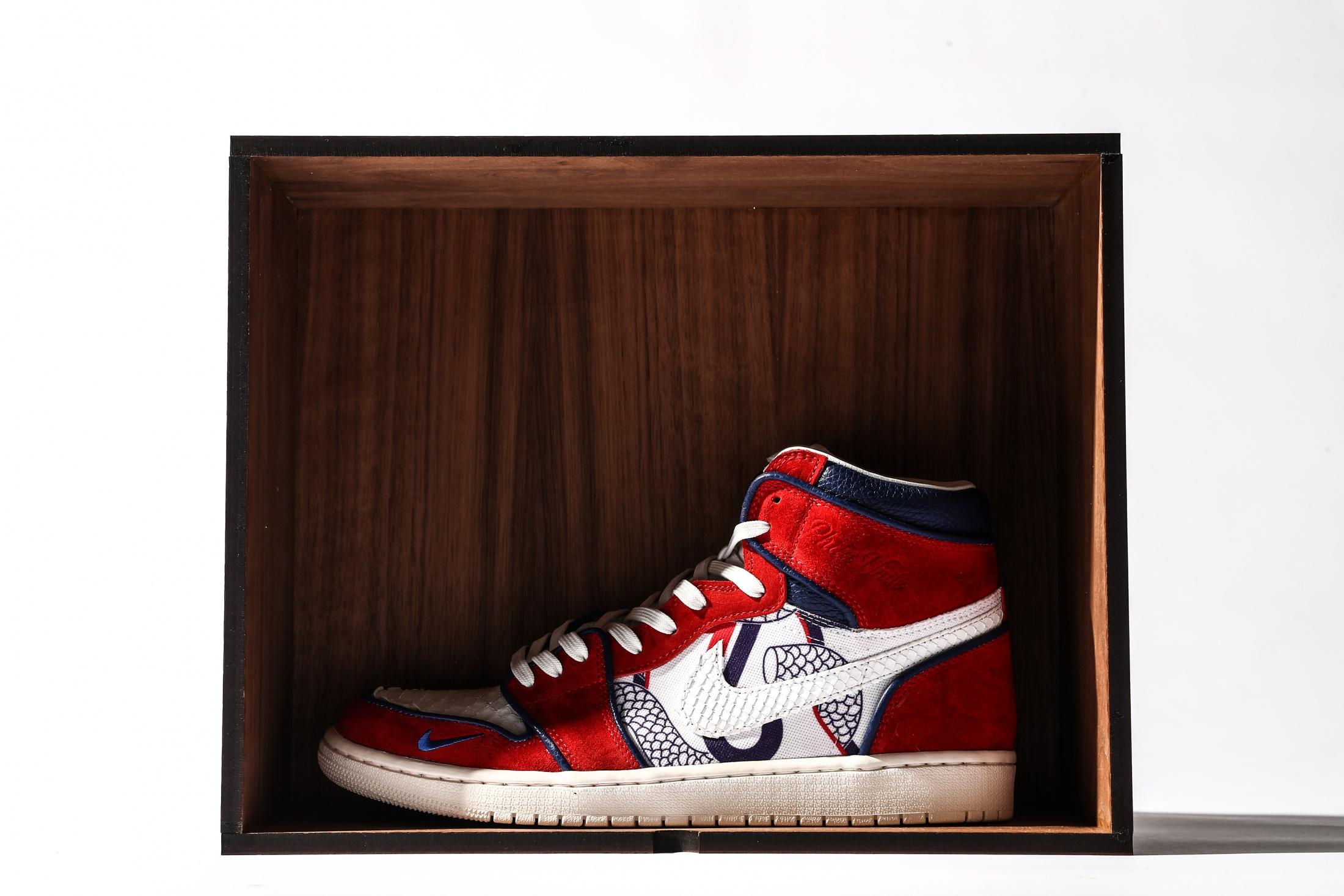 Thumbnail for Phila Unite Custom Jordan 1's