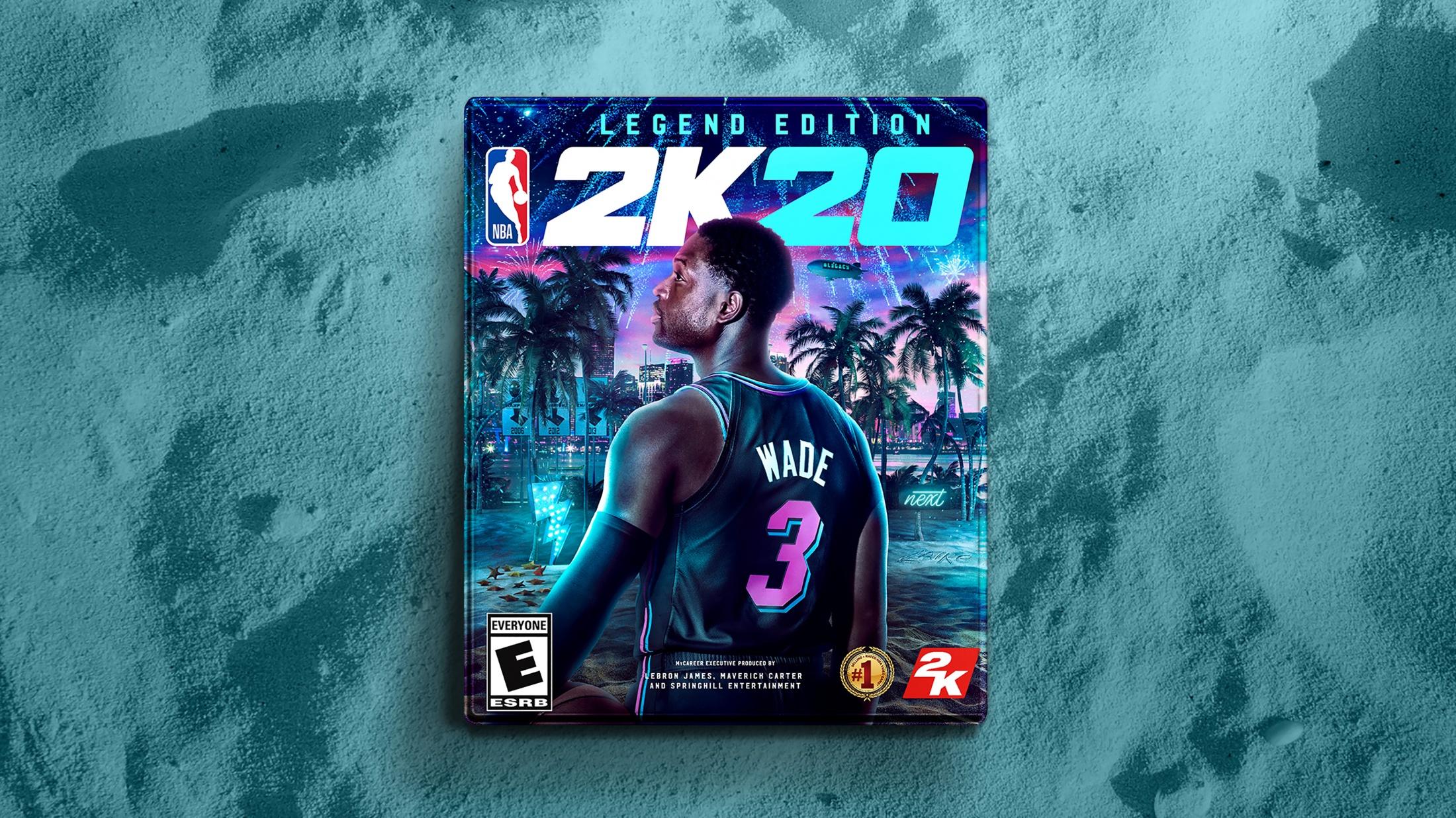 Thumbnail for 2K20 Anthony Davis / Dwyane Wade Cover Art