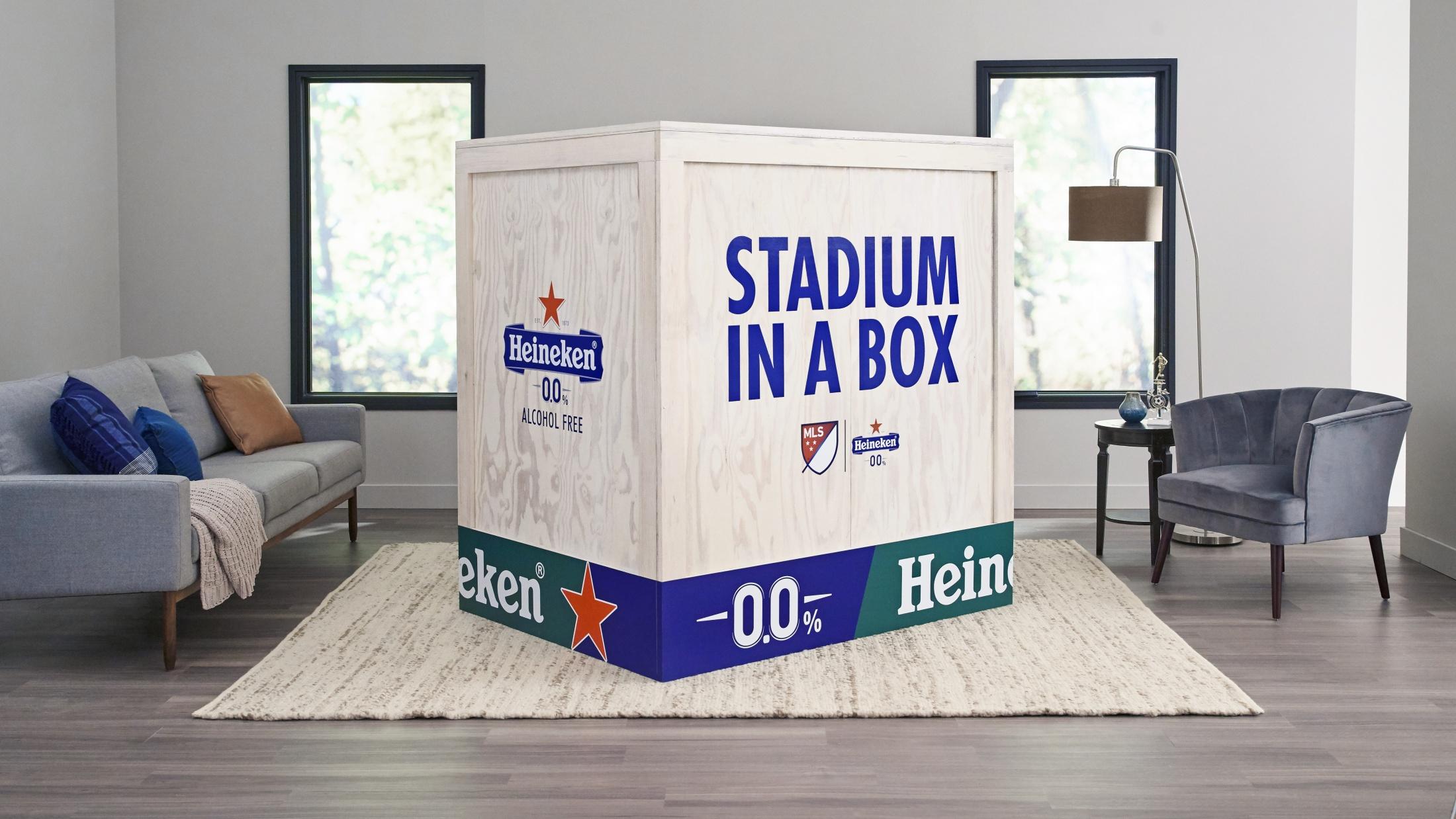 Thumbnail for Heineken 0.0 'Stadium in a Box'