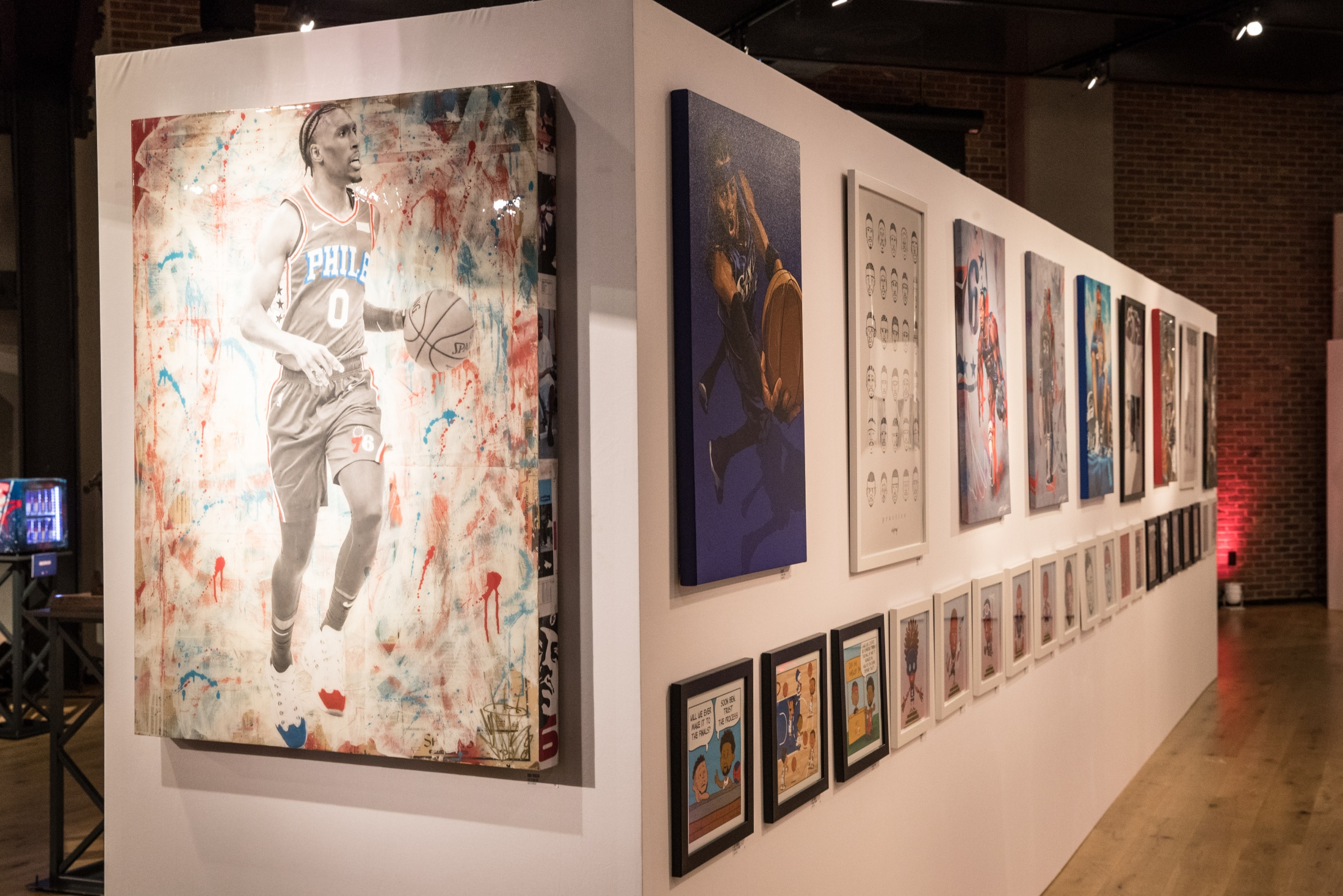Thumbnail for 76ers Crossover - Art Exhibition
