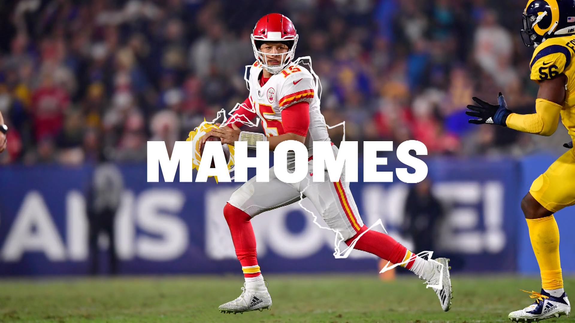 Thumbnail for Friends + Football = ESPN FANTASY (Mahomes)