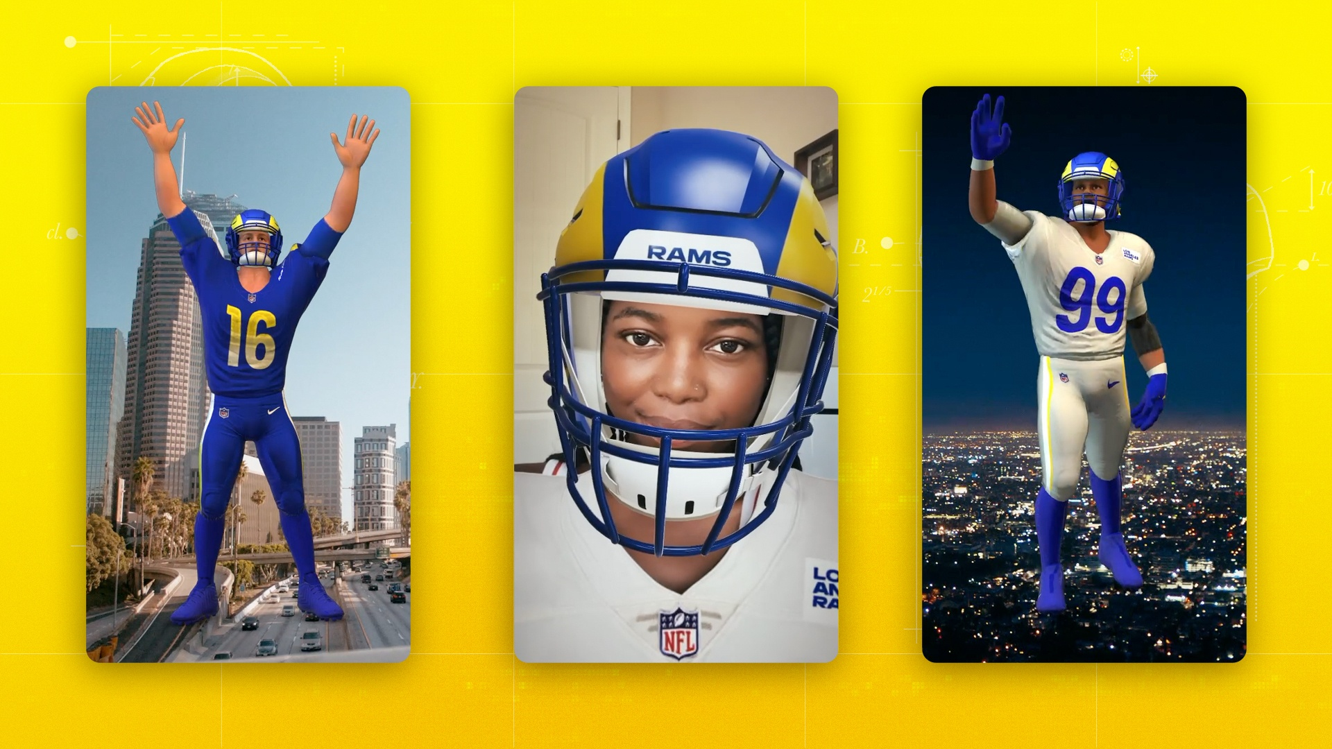 Thumbnail for Rams x Snapchat - First ever NFL uniform reveal