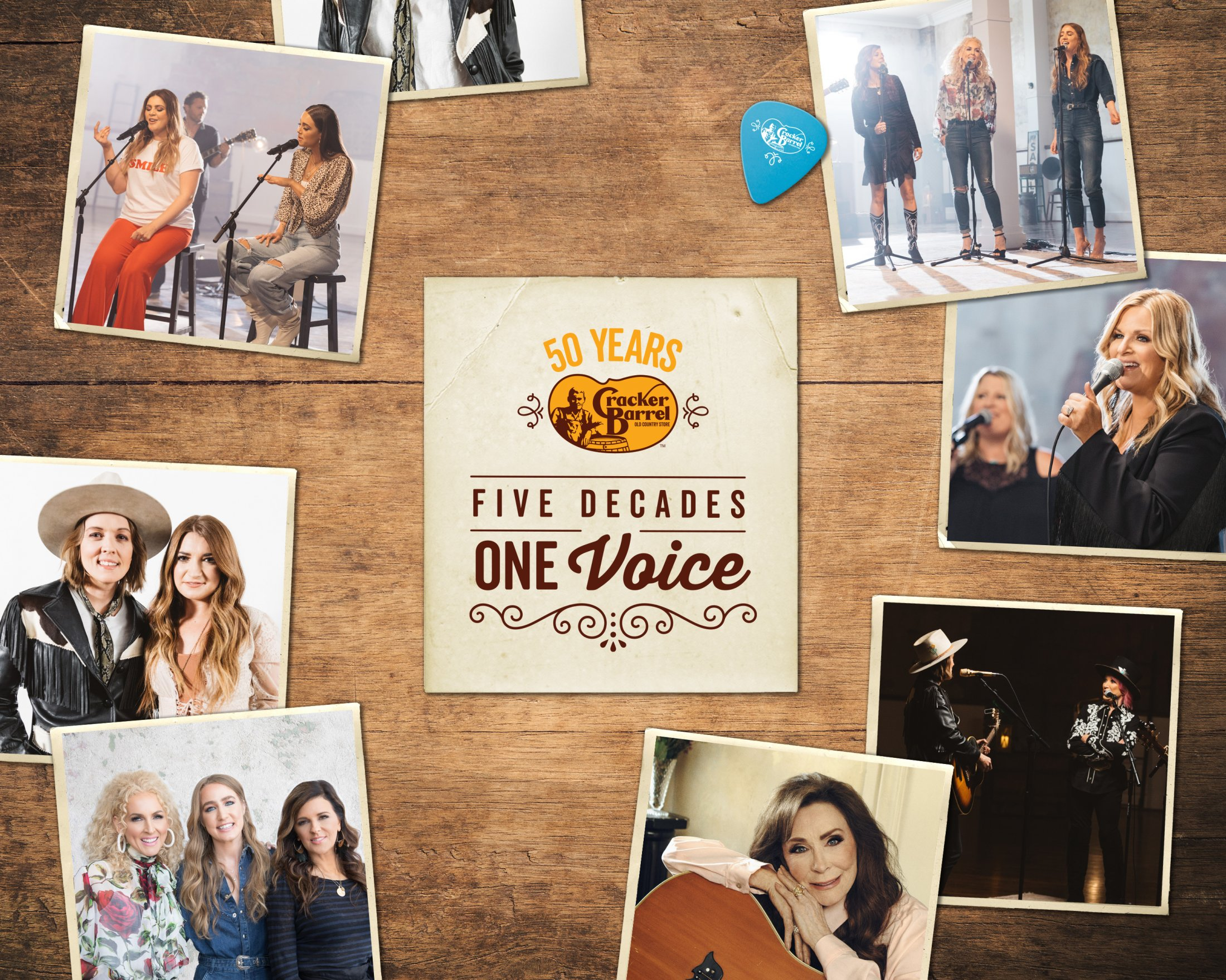 Thumbnail for Five Decades, One Voice