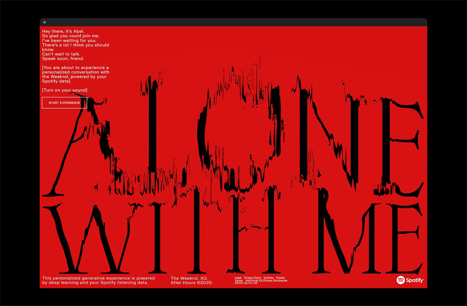 Thumbnail for Alone With Me