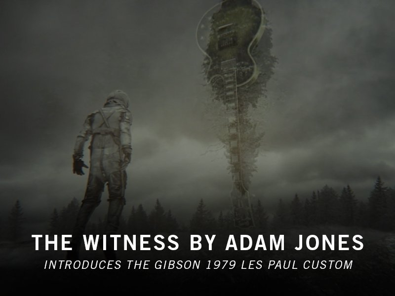 Thumbnail for The Witness by Adam Jones Introduces The Gibson 1979 Les Paul Custom