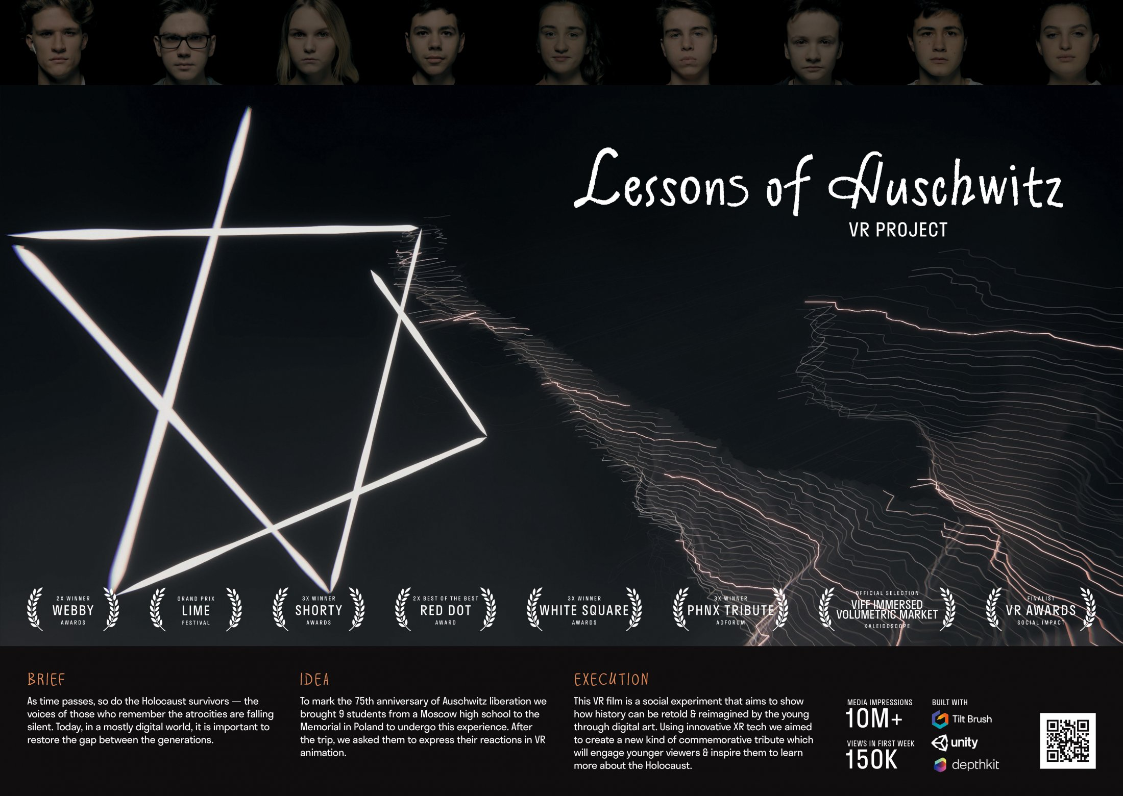 Thumbnail for Lessons Of Auschwitz: VR Tribute By School Students