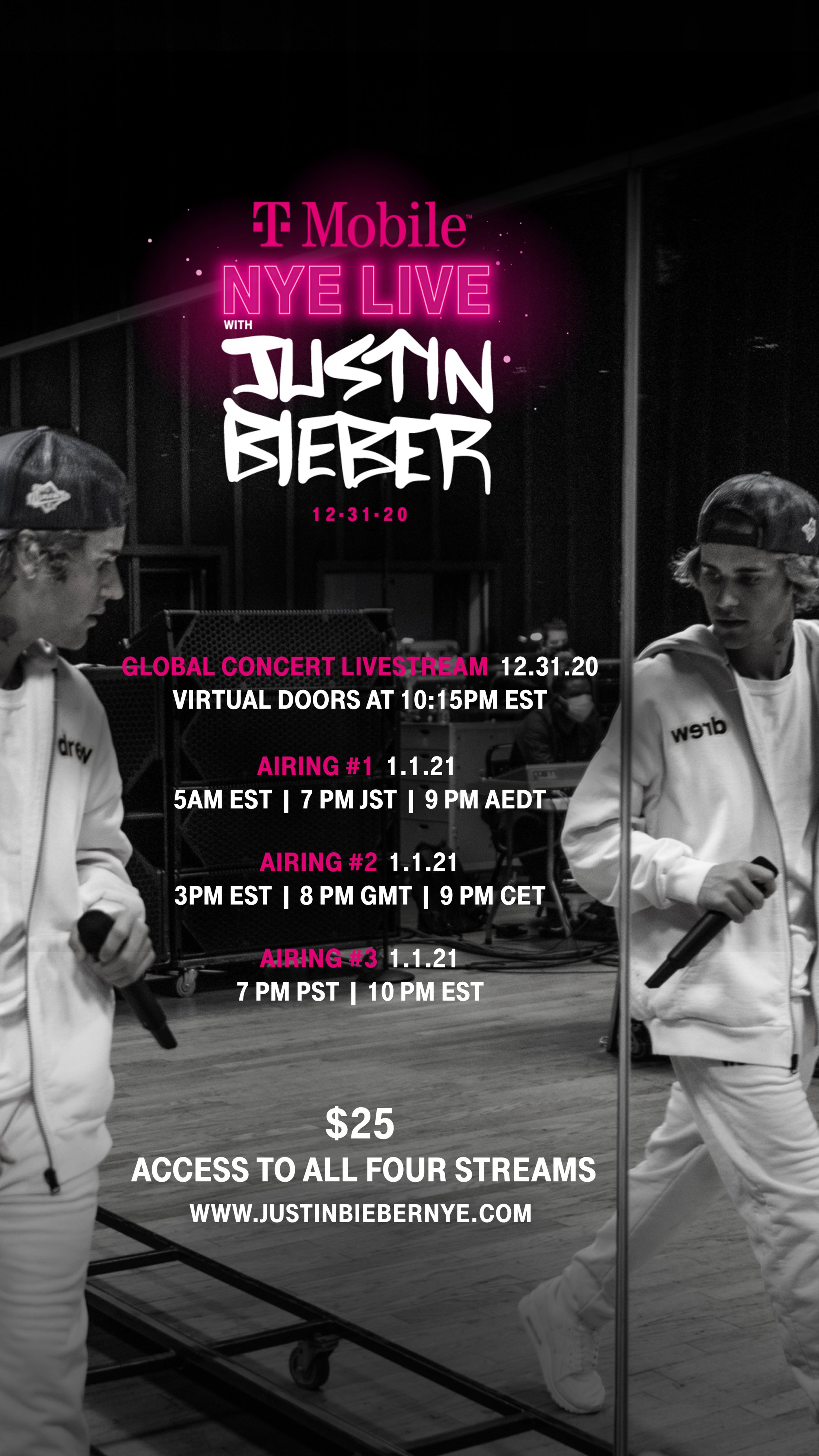 Thumbnail for New Year's Eve Live with Justin Bieber