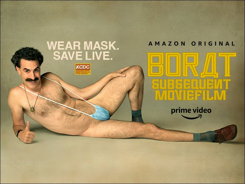 Thumbnail for Borat Subsequent Moviefilm Trailer