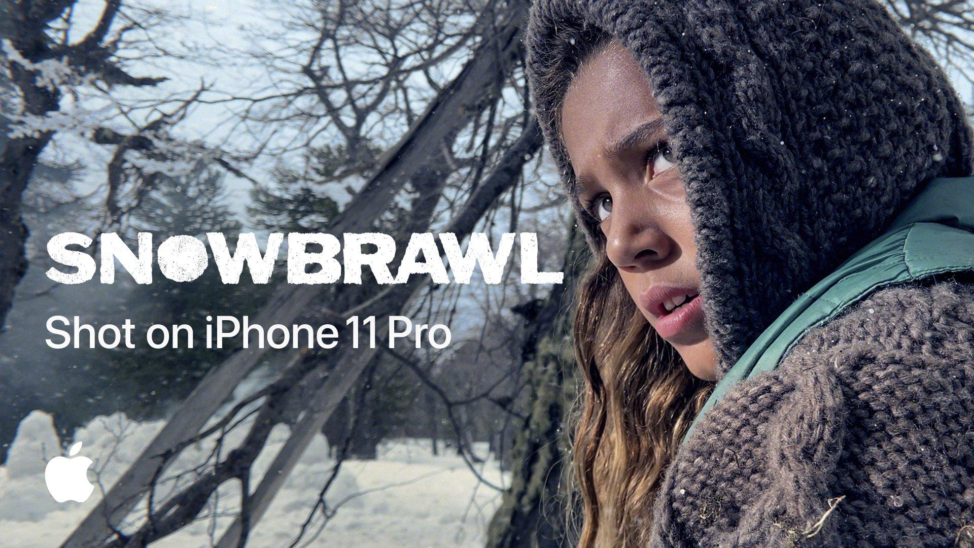 Thumbnail for Shot on iPhone 11 Pro—Snowbrawl
