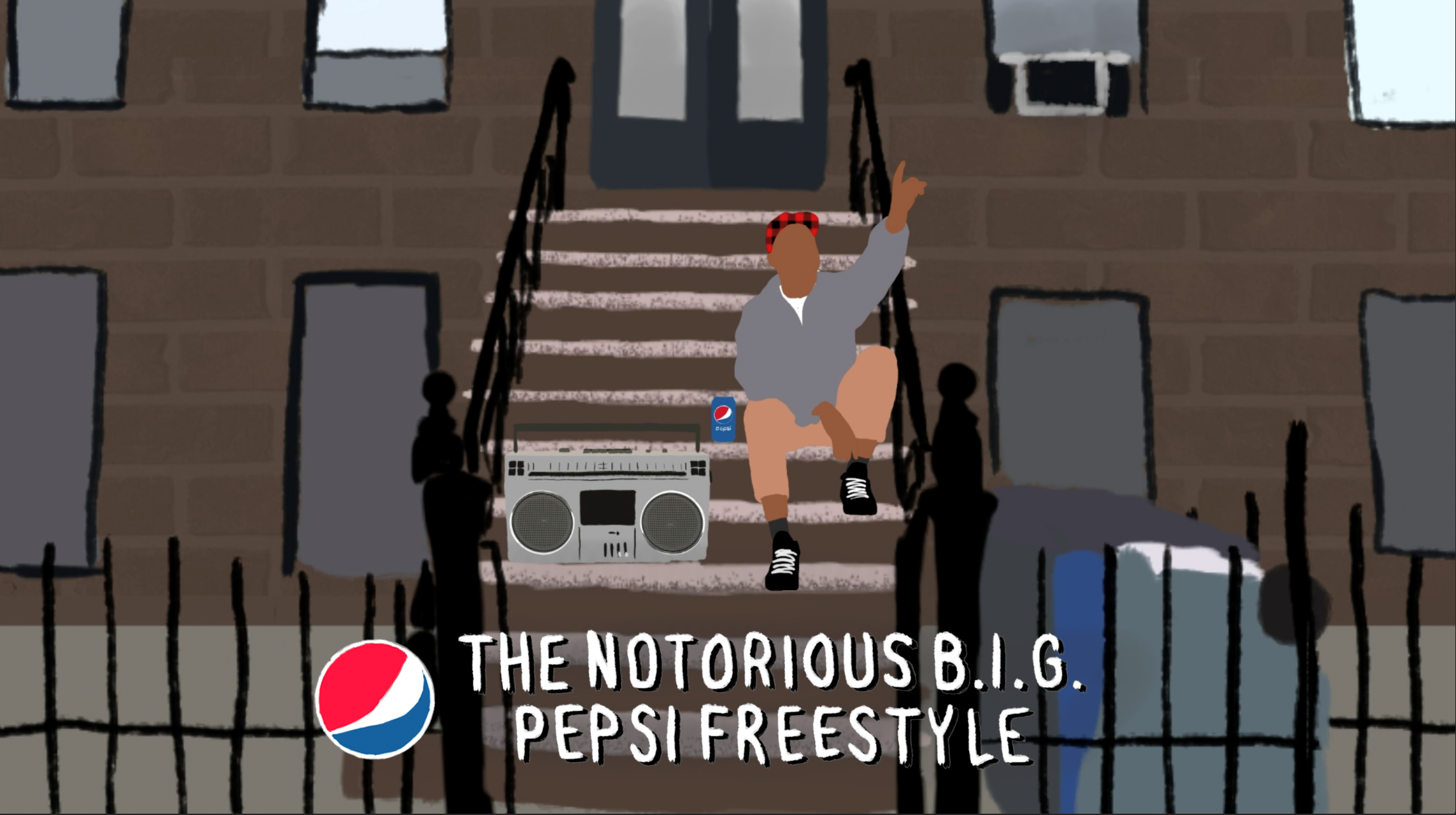 Thumbnail for The NOTORIOUS B.I.G. Pepsi Freestyle