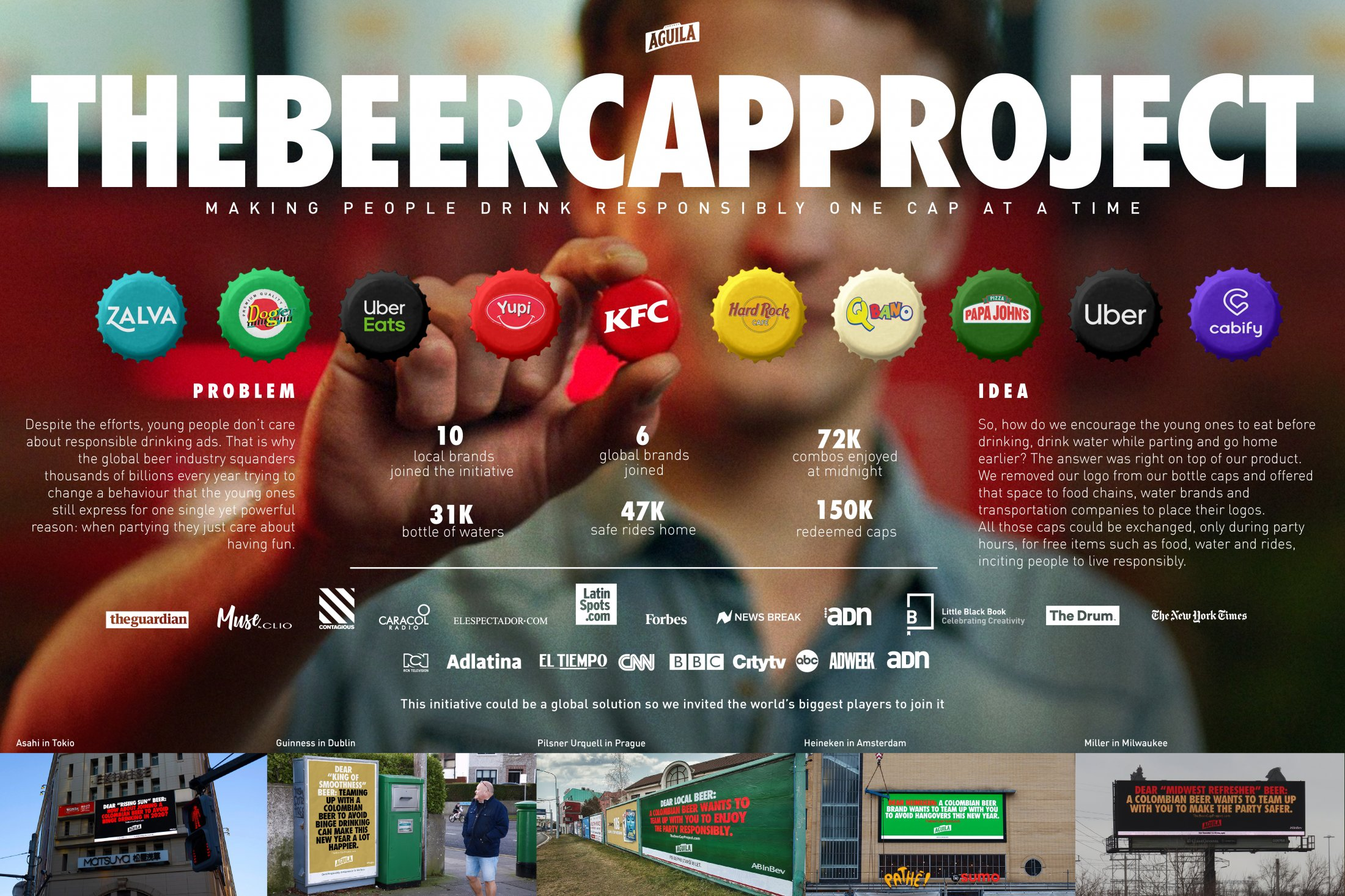 Thumbnail for THE BEER CAP PROJECT