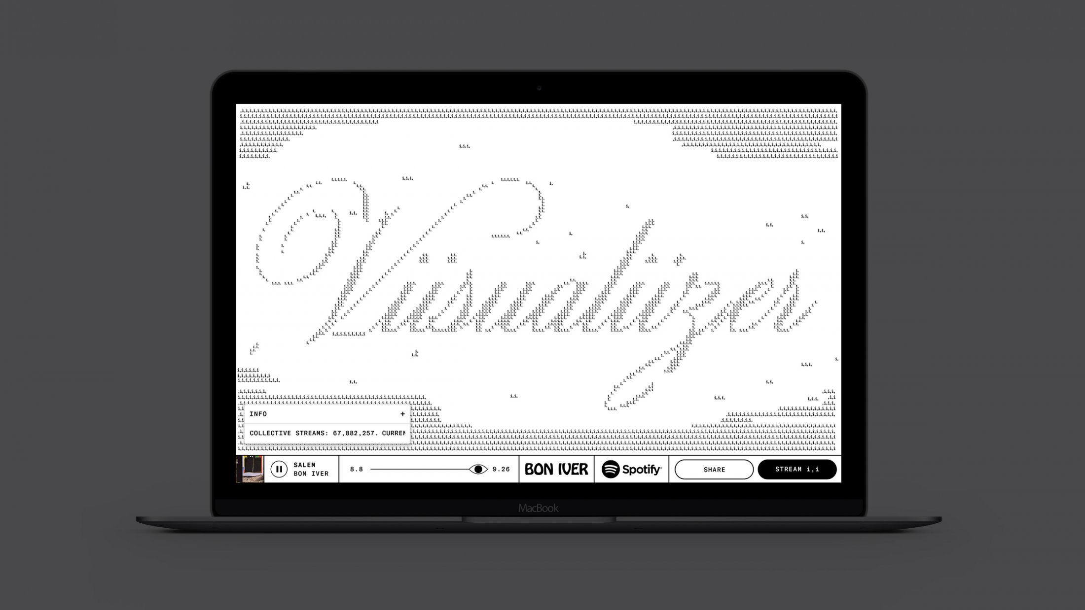 Thumbnail for Bon Iver Viisualiizer