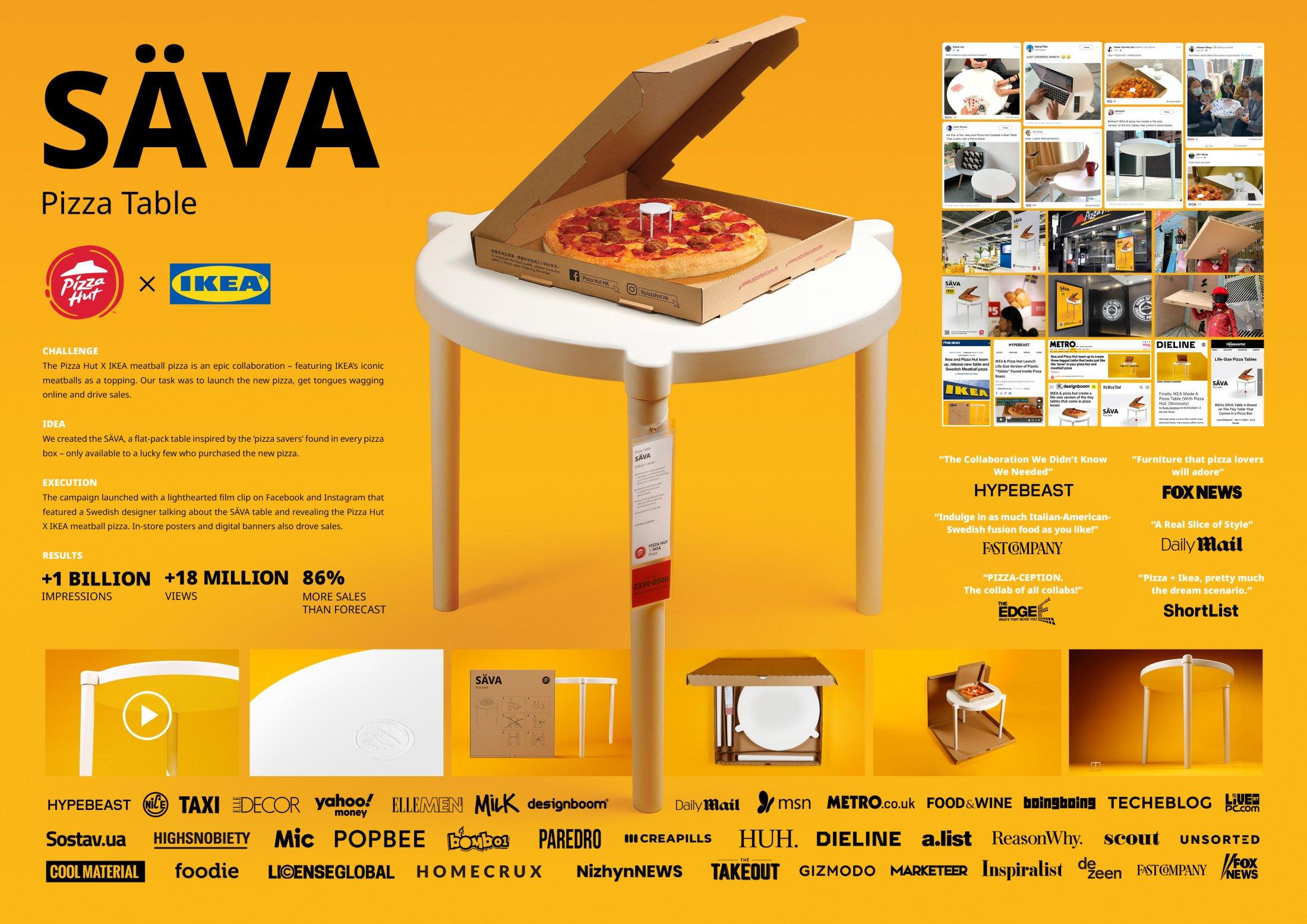 Thumbnail for Pizza Hut x IKEA SÄVA