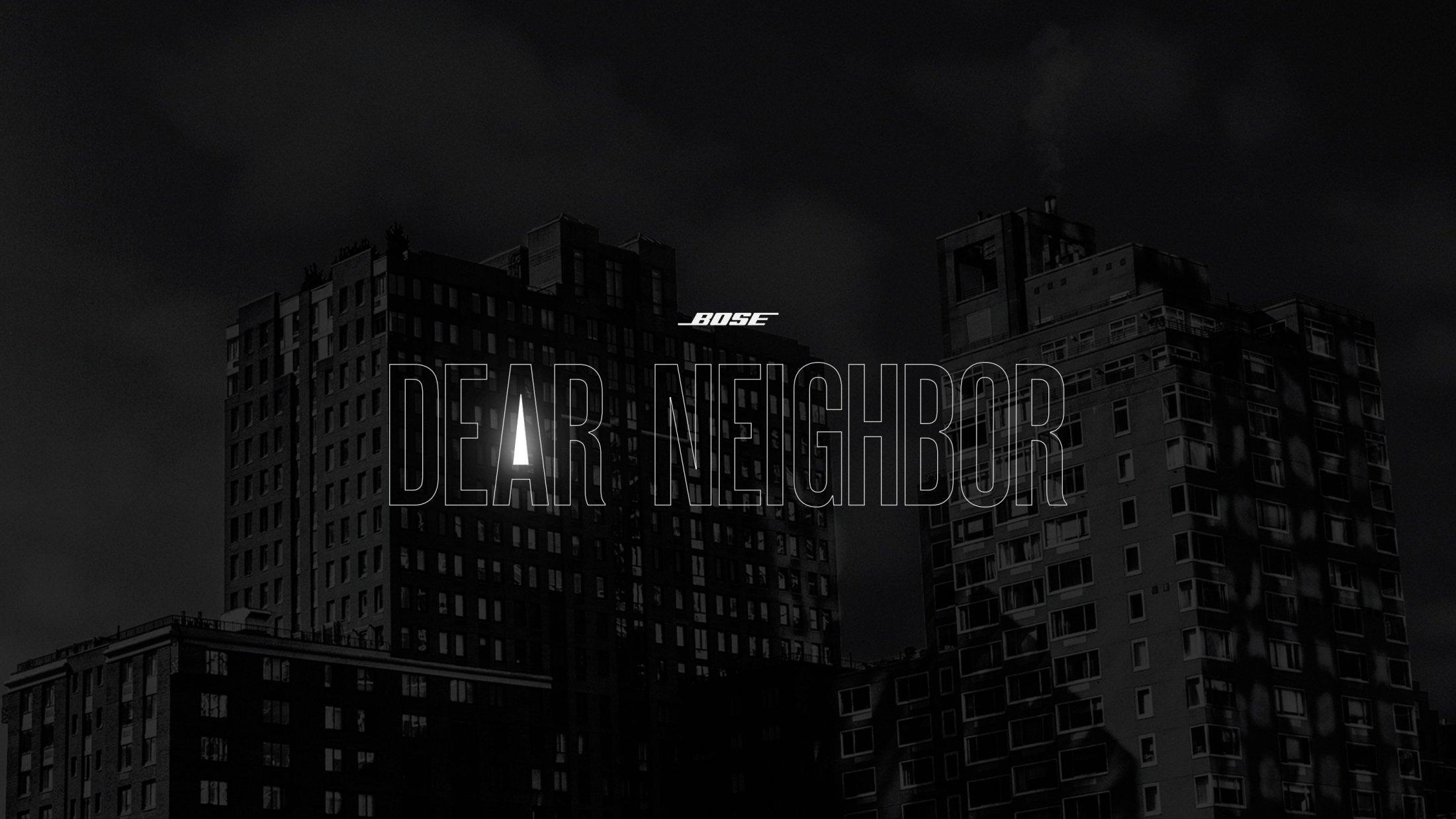 Thumbnail for Dear Neighbor