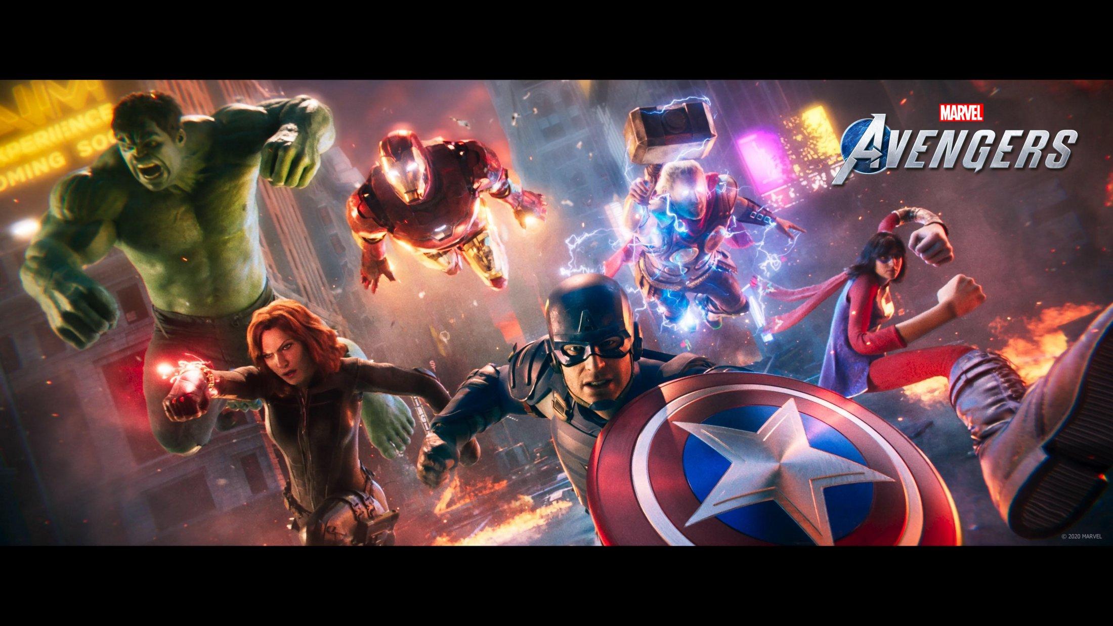 Thumbnail for Avengers Assemble