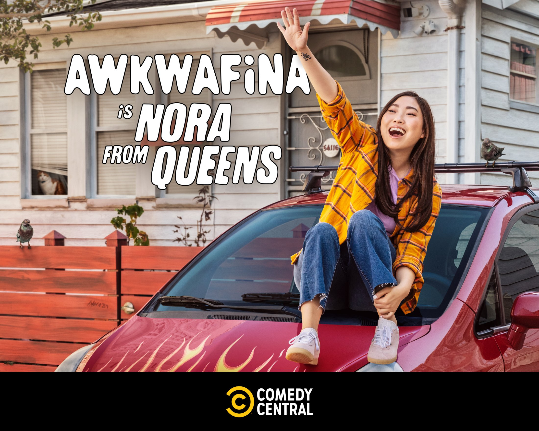 Thumbnail for Awkwafina 7 Train Takeover