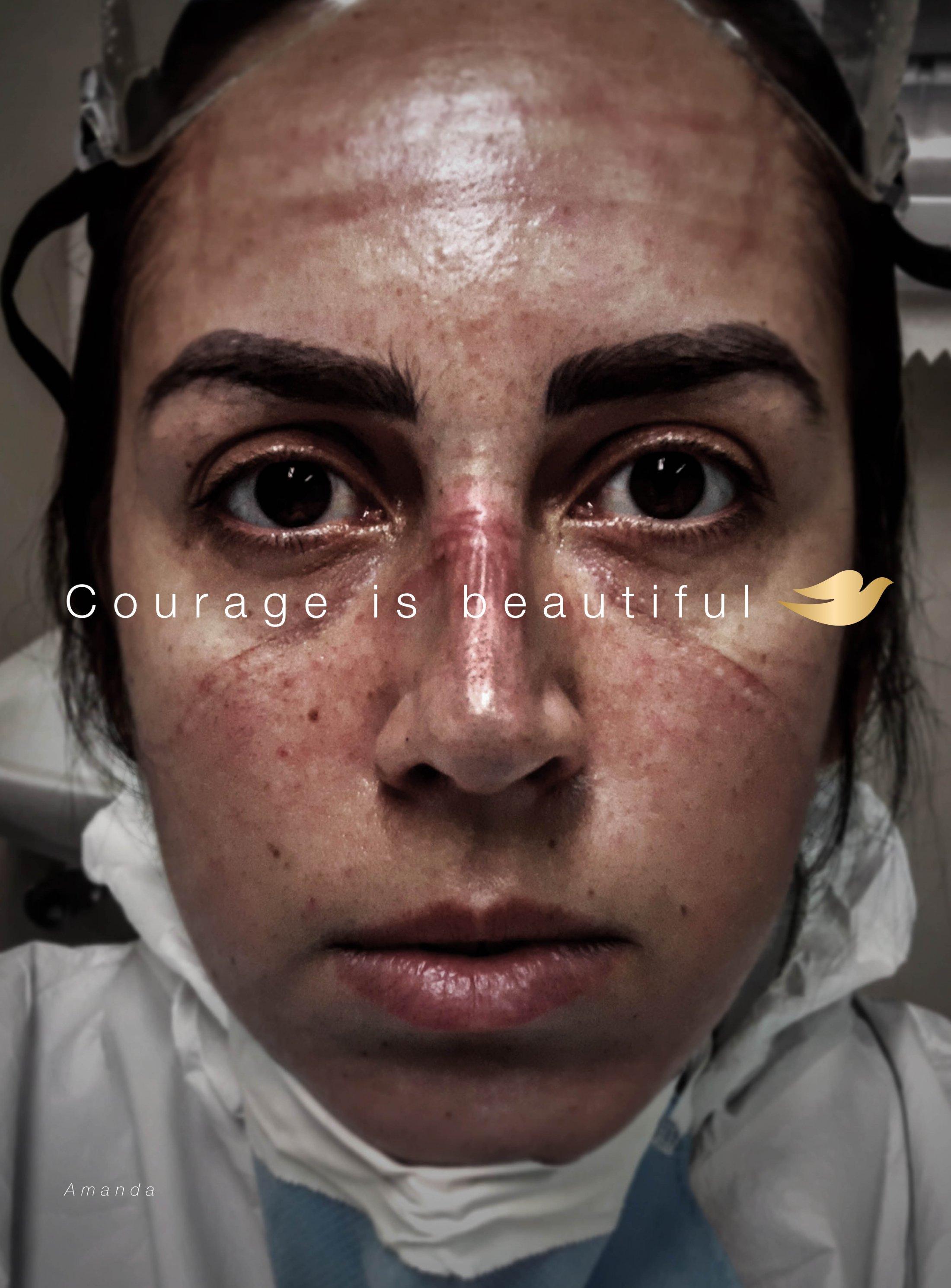 Thumbnail for Courage Is Beautiful (Amanda)