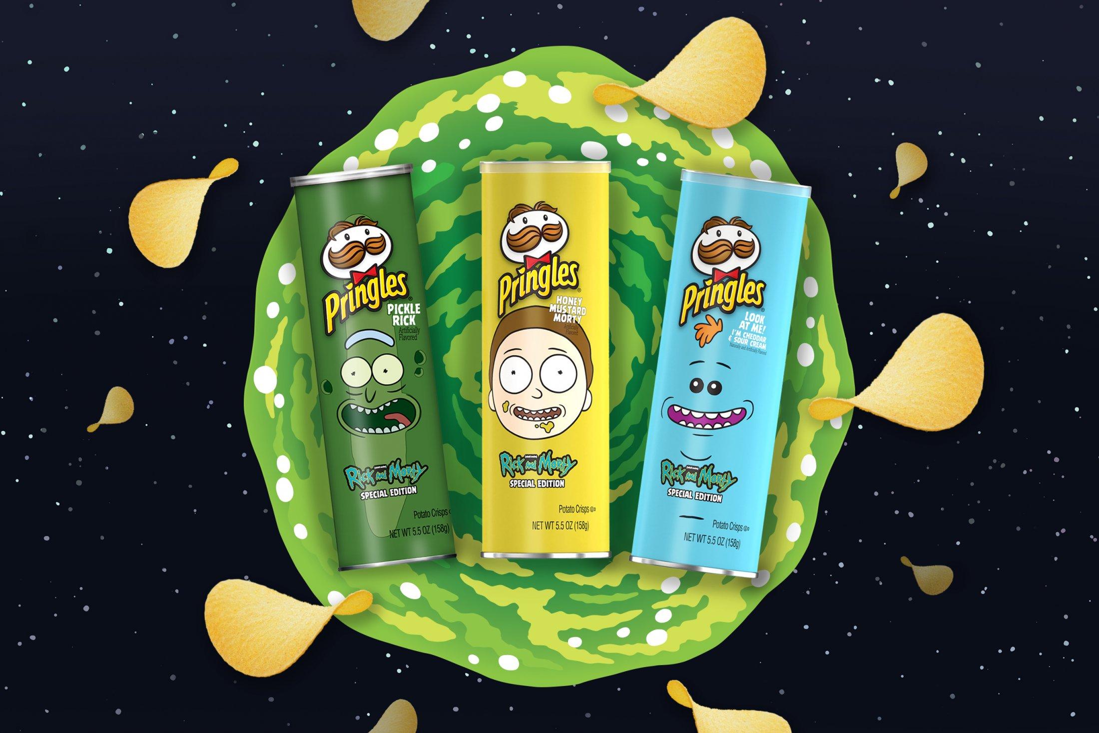 Thumbnail for Rick and Morty and Pringles
