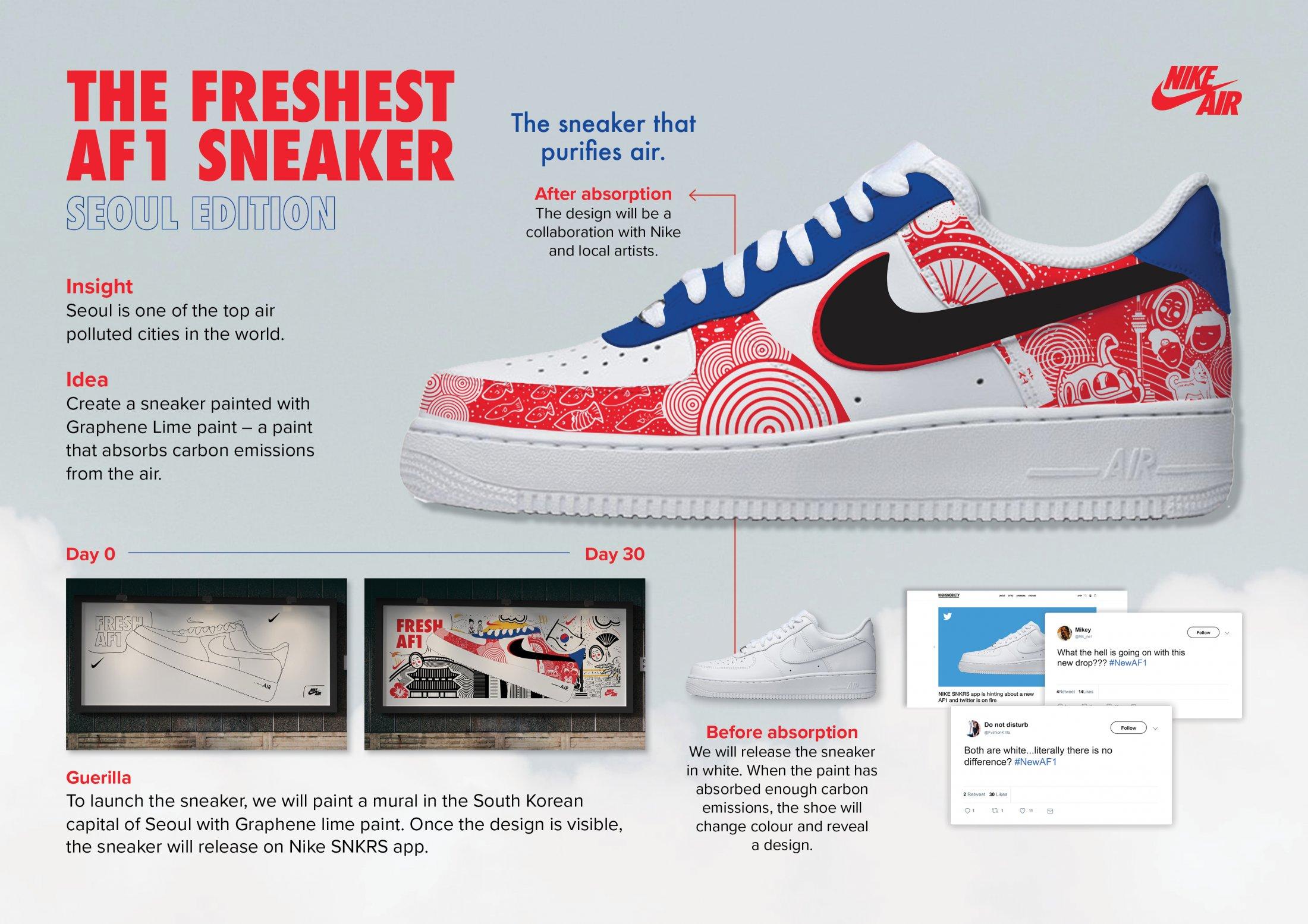 Thumbnail for The Freshest AF1 Sneaker