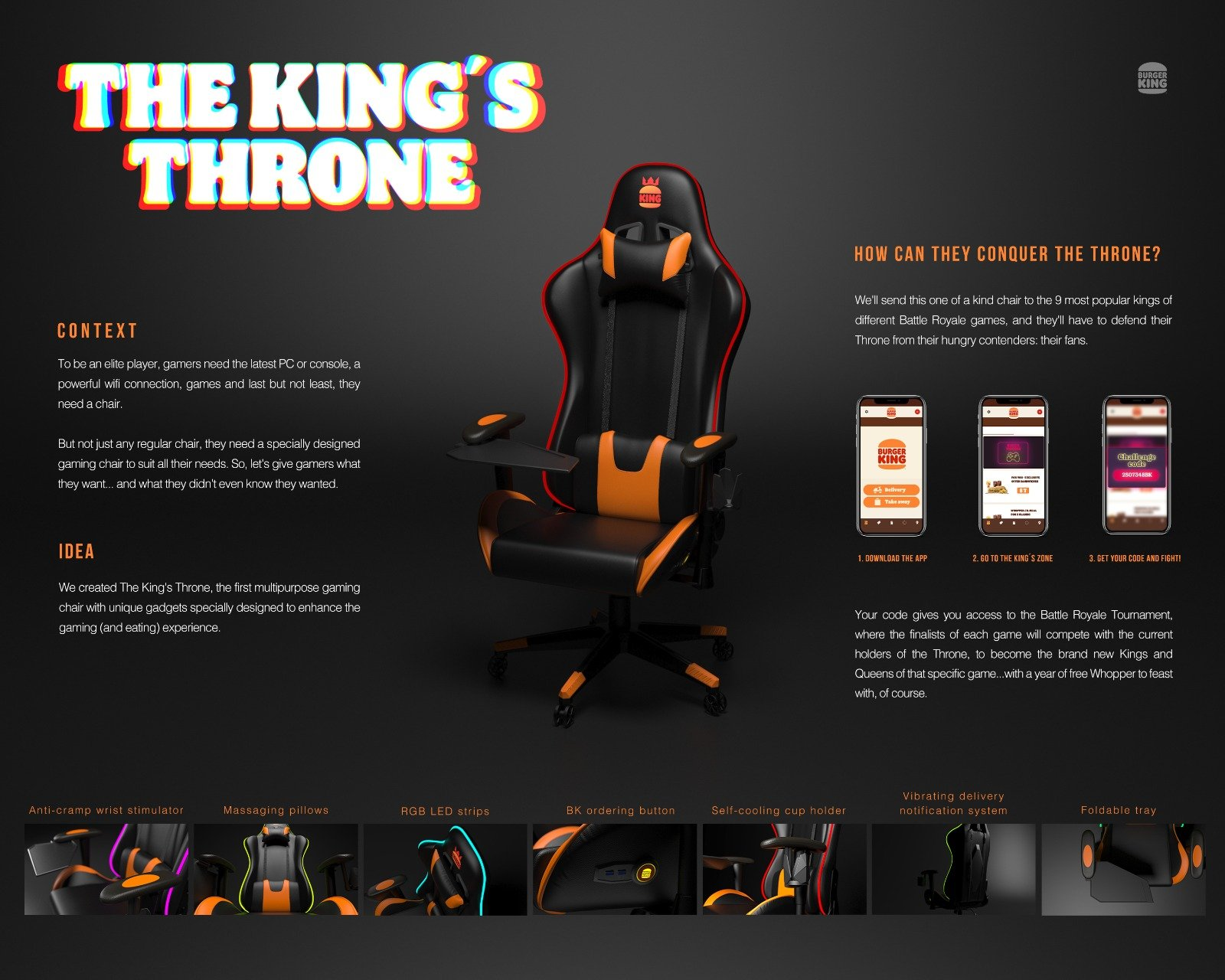Thumbnail for THE KING´S THRONE