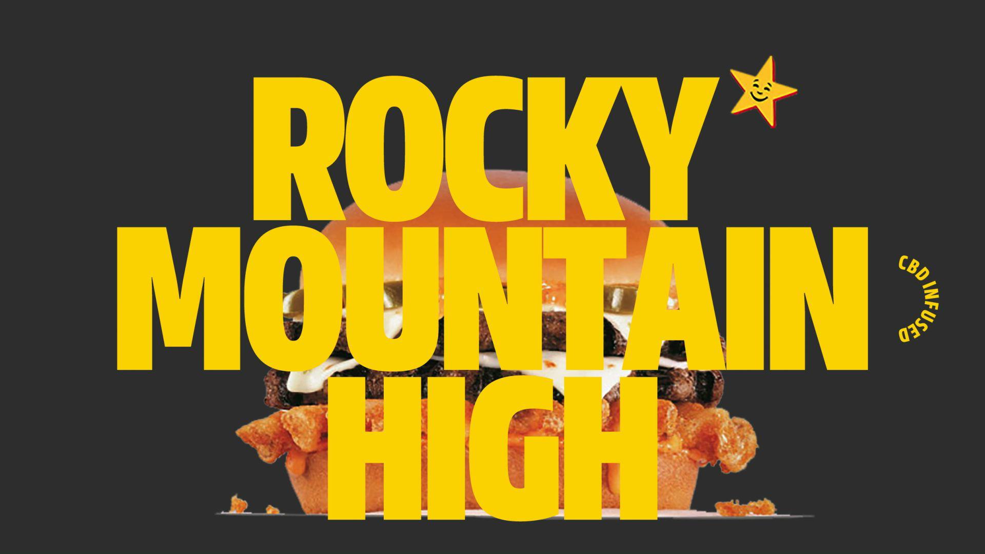 Carl's Jr. : Rocky Mountain High Cheeseburger Delight