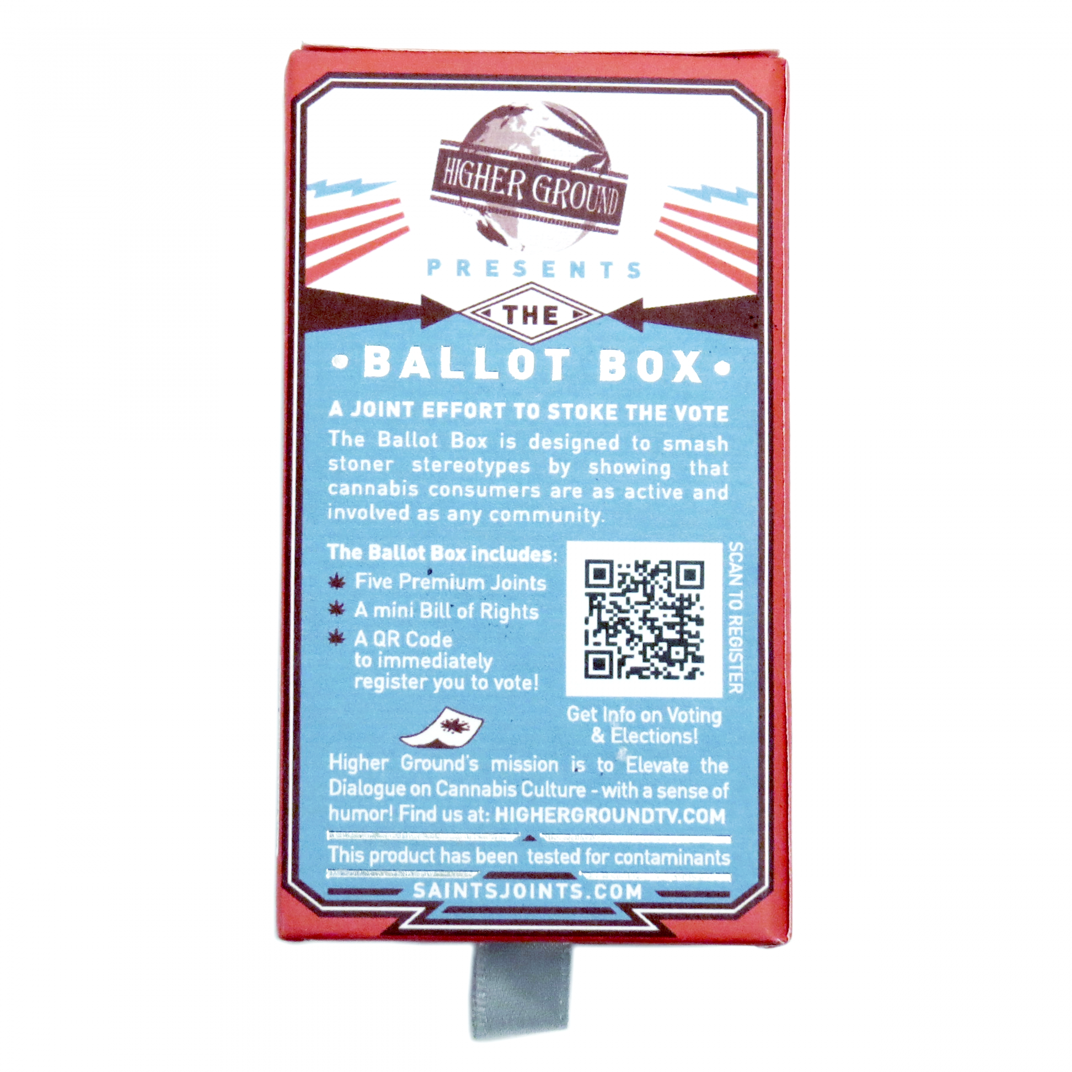 Saints: The Ballot Box