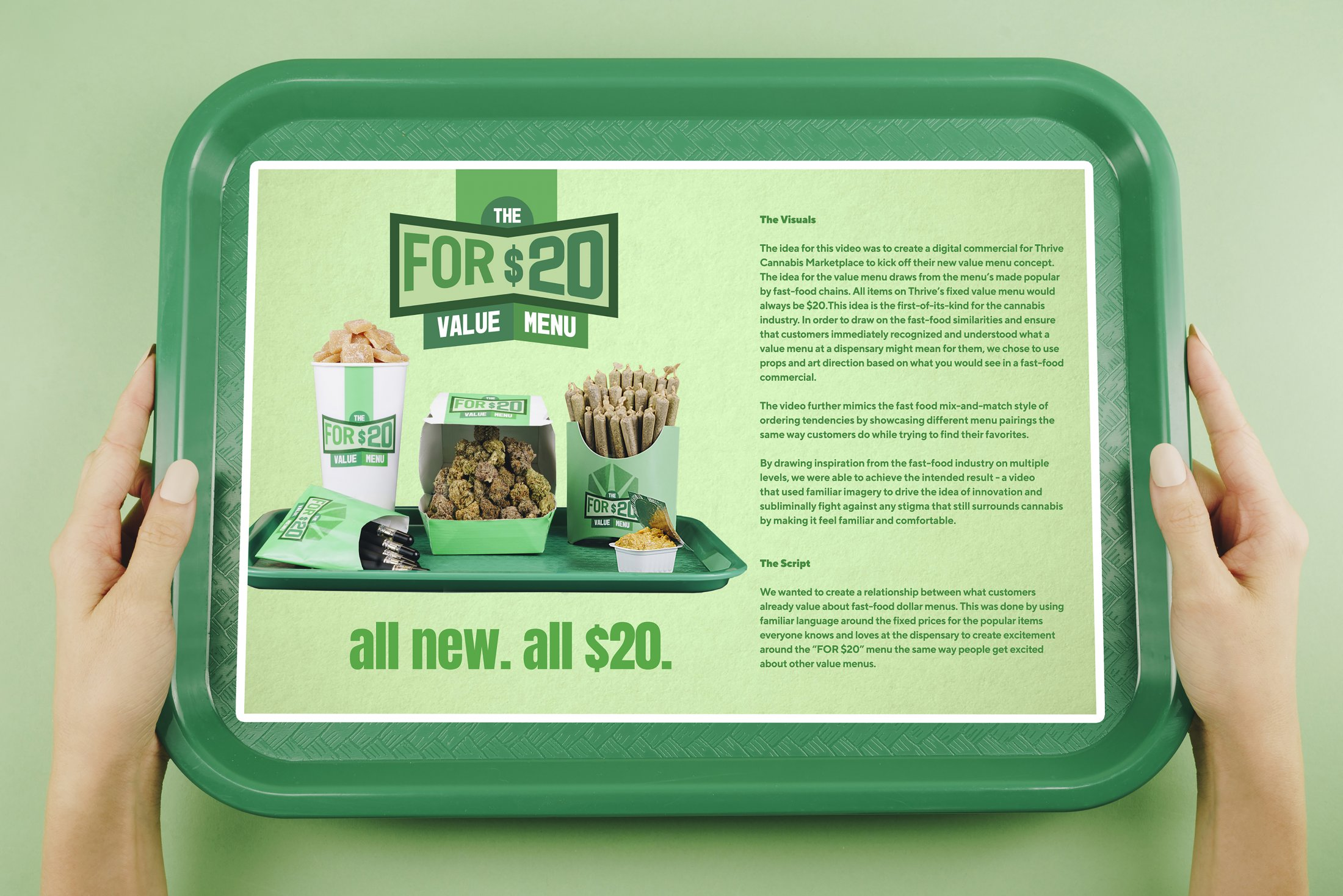 Thrive Cannabis Marketplace: The For $20 Value Menu