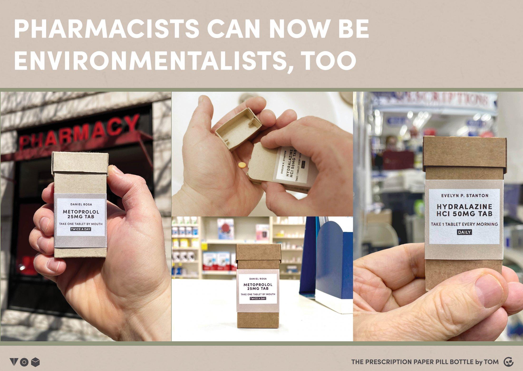 Thumbnail for The Prescription Paper Pill Bottle