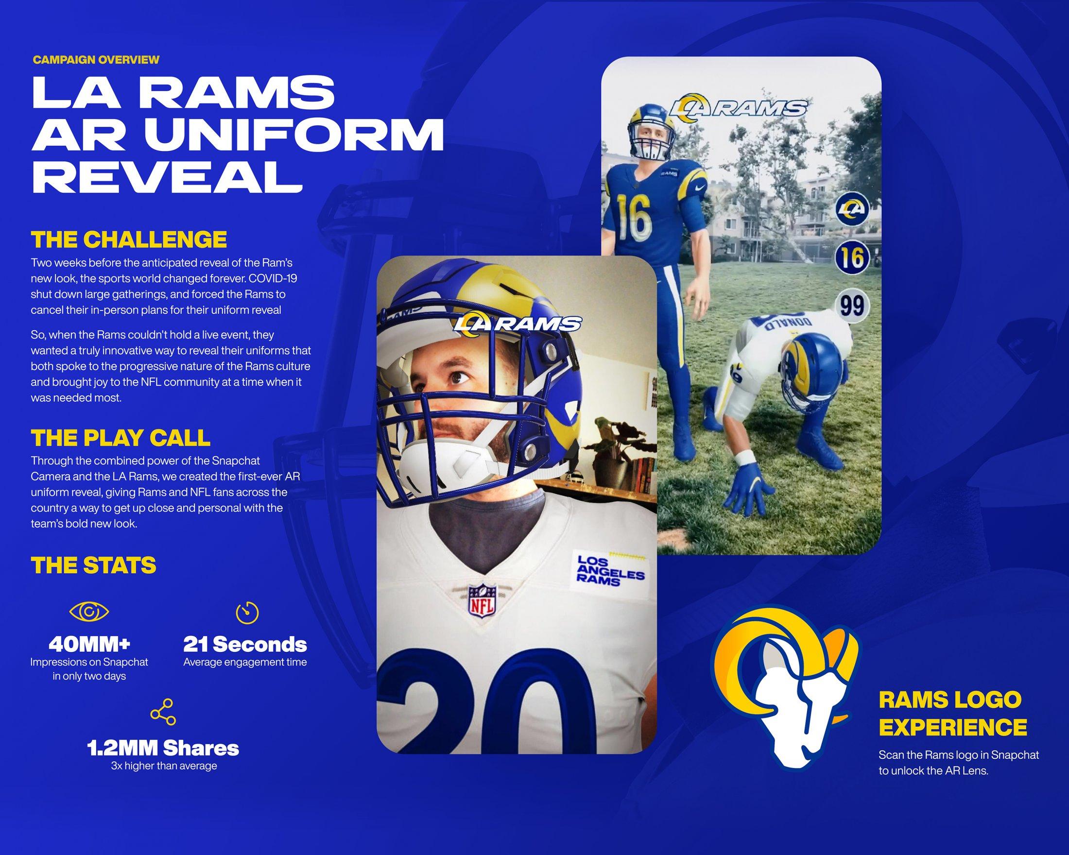 Thumbnail for LA Rams AR Uniform Reveal