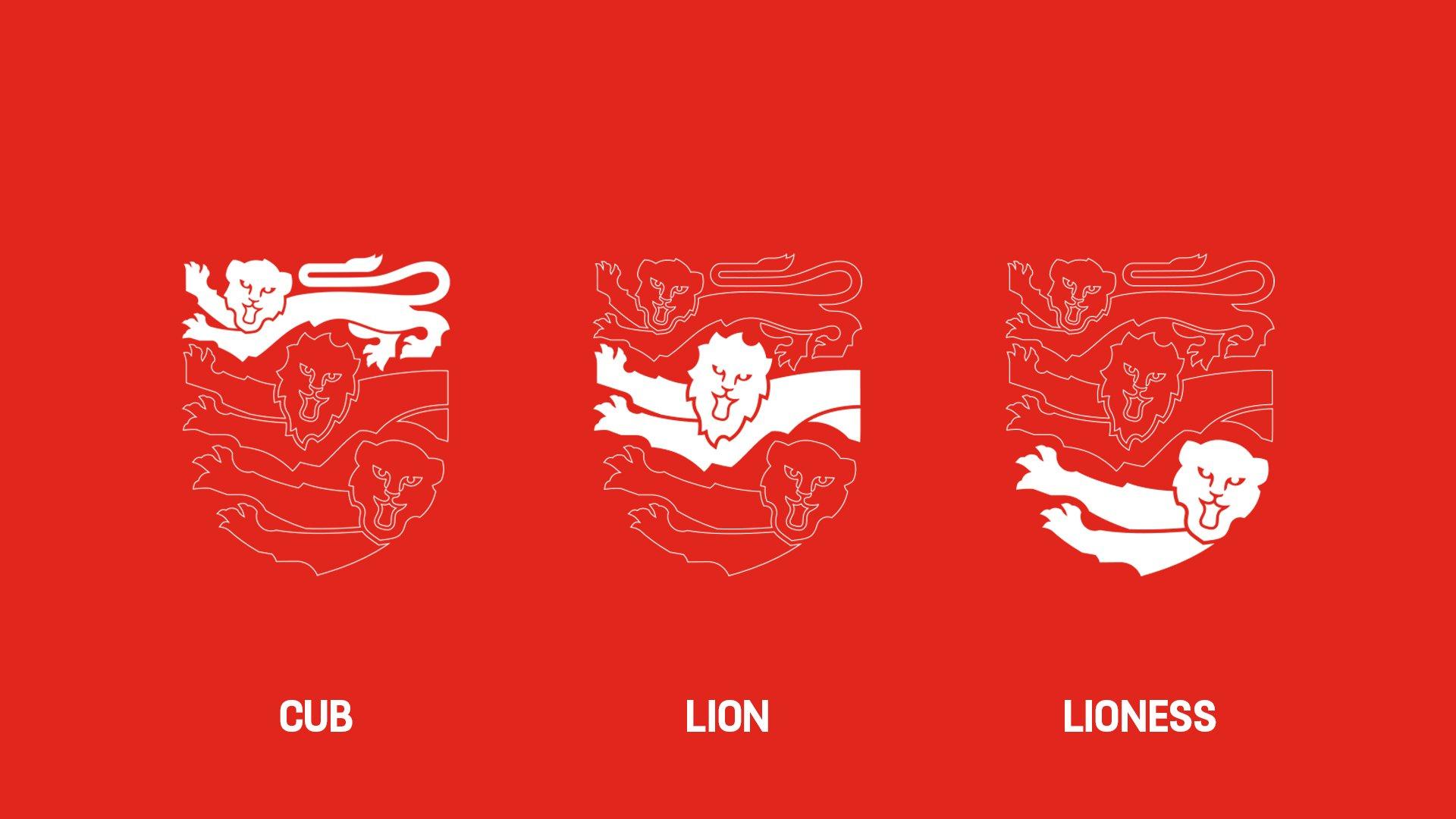 Thumbnail for England Football Brand Identity