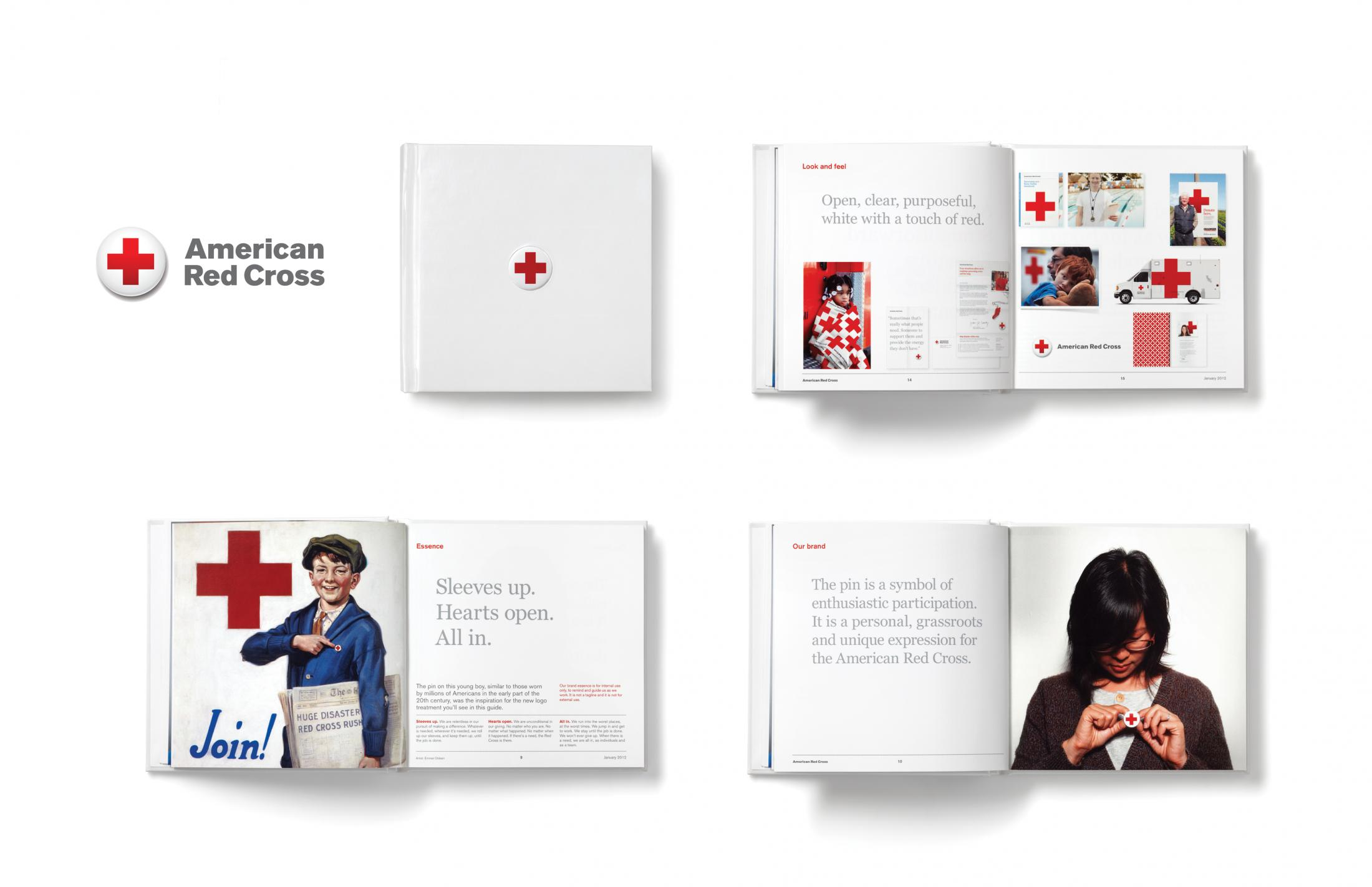 Thumbnail for American Red Cross Visual Identity