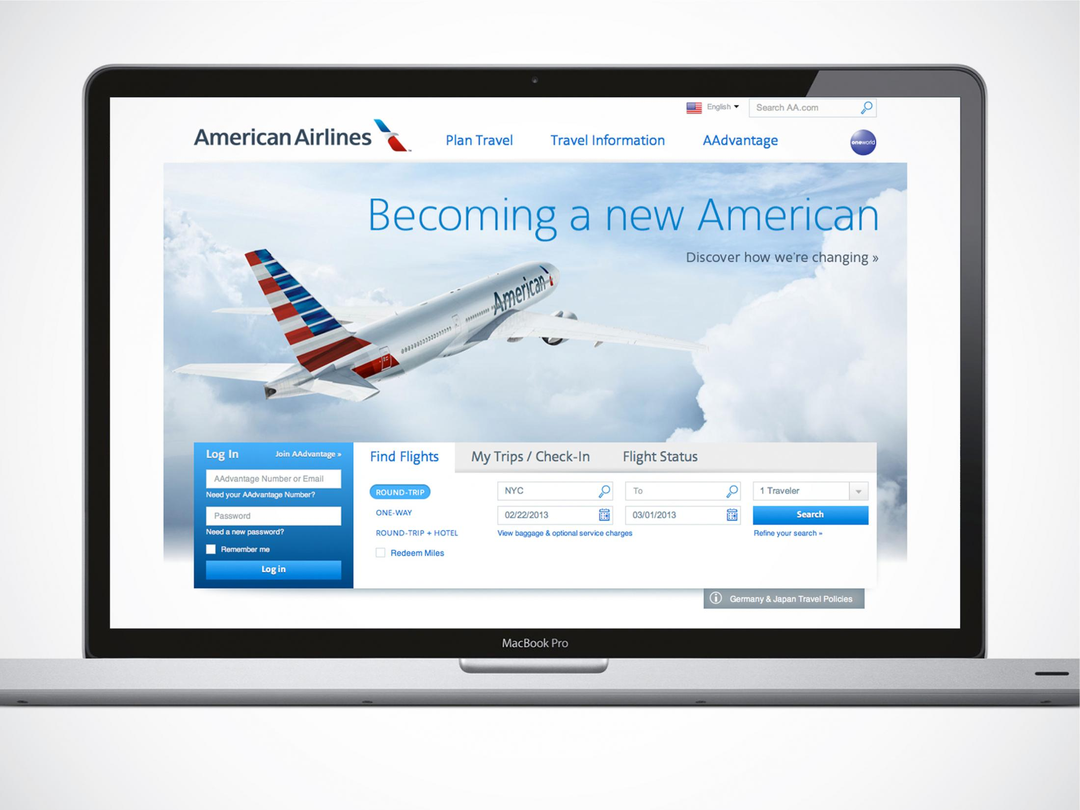 Thumbnail for The new American Airlines