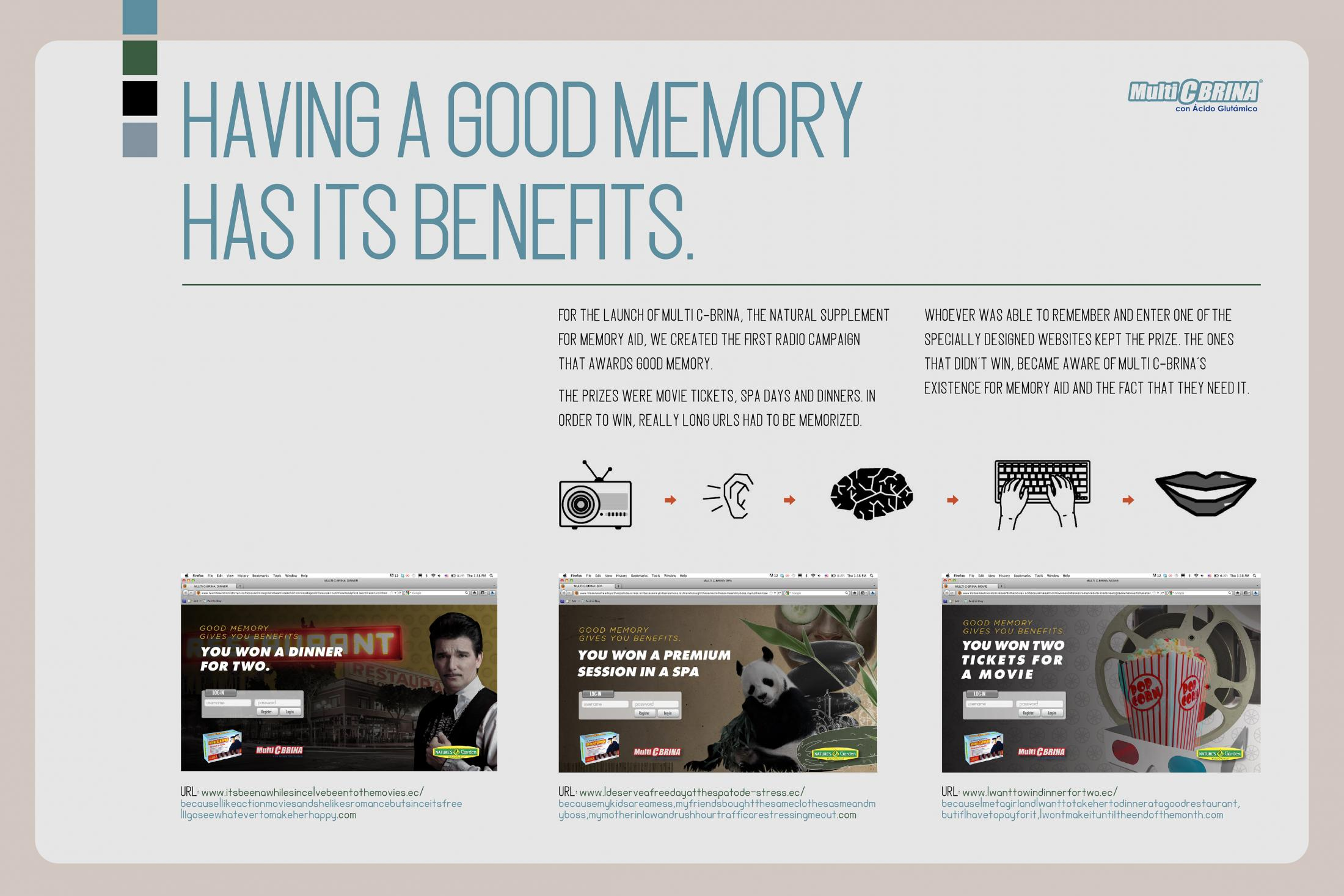 Thumbnail for Good Memory have Benefits
