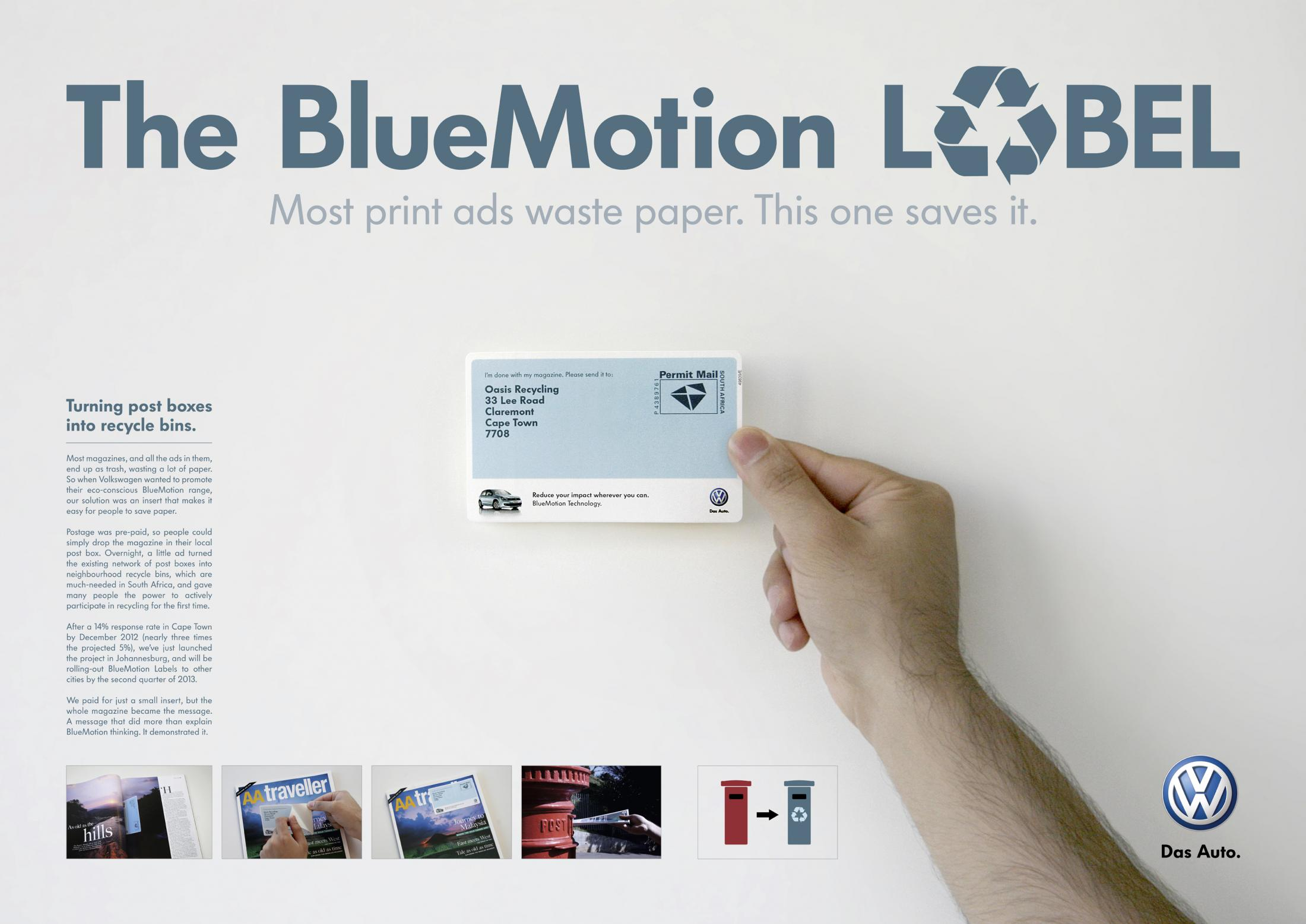 Thumbnail for The BlueMotion Label