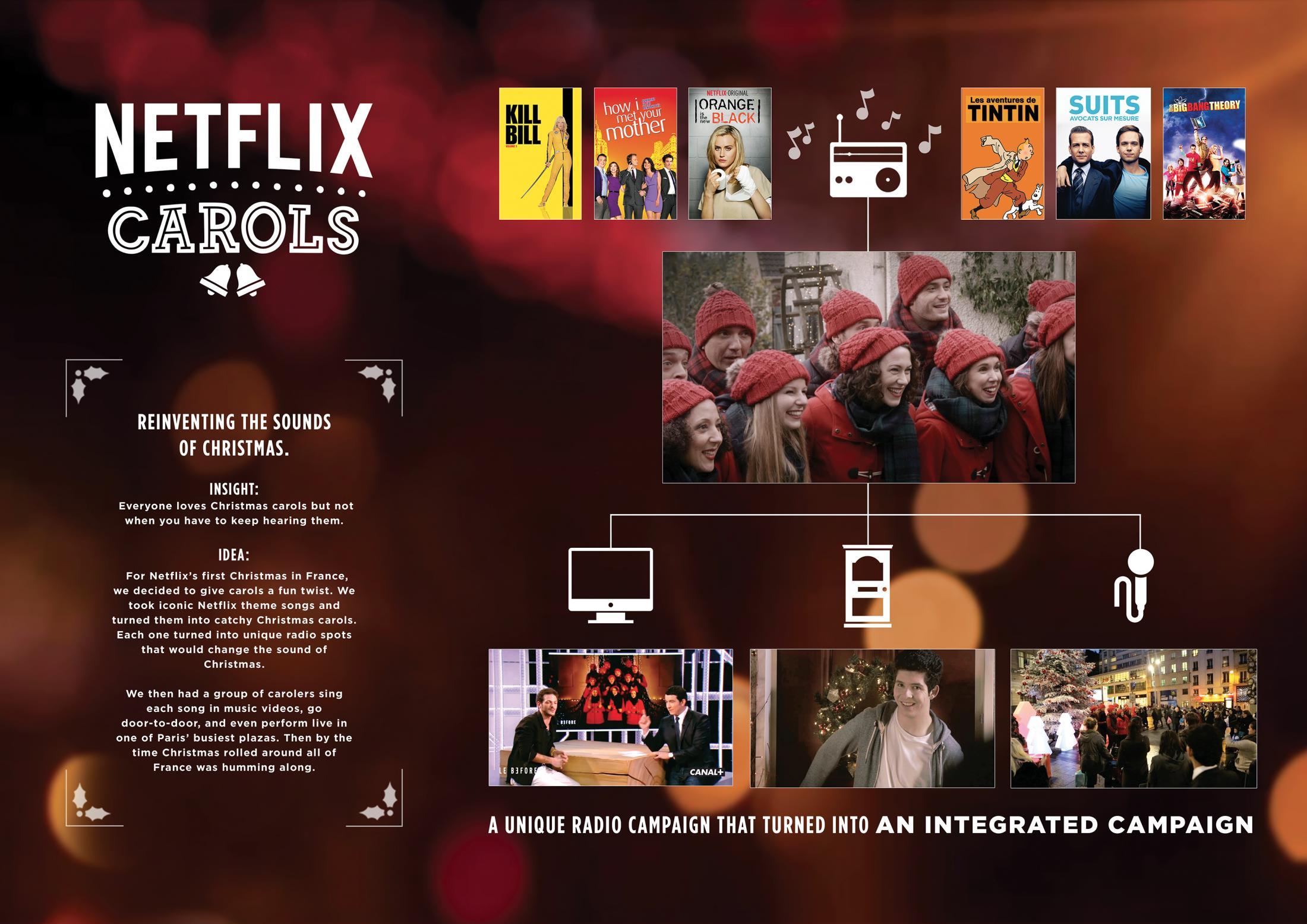 Thumbnail for NETFLIX CHRISTMAS CAROLS - SUITS
