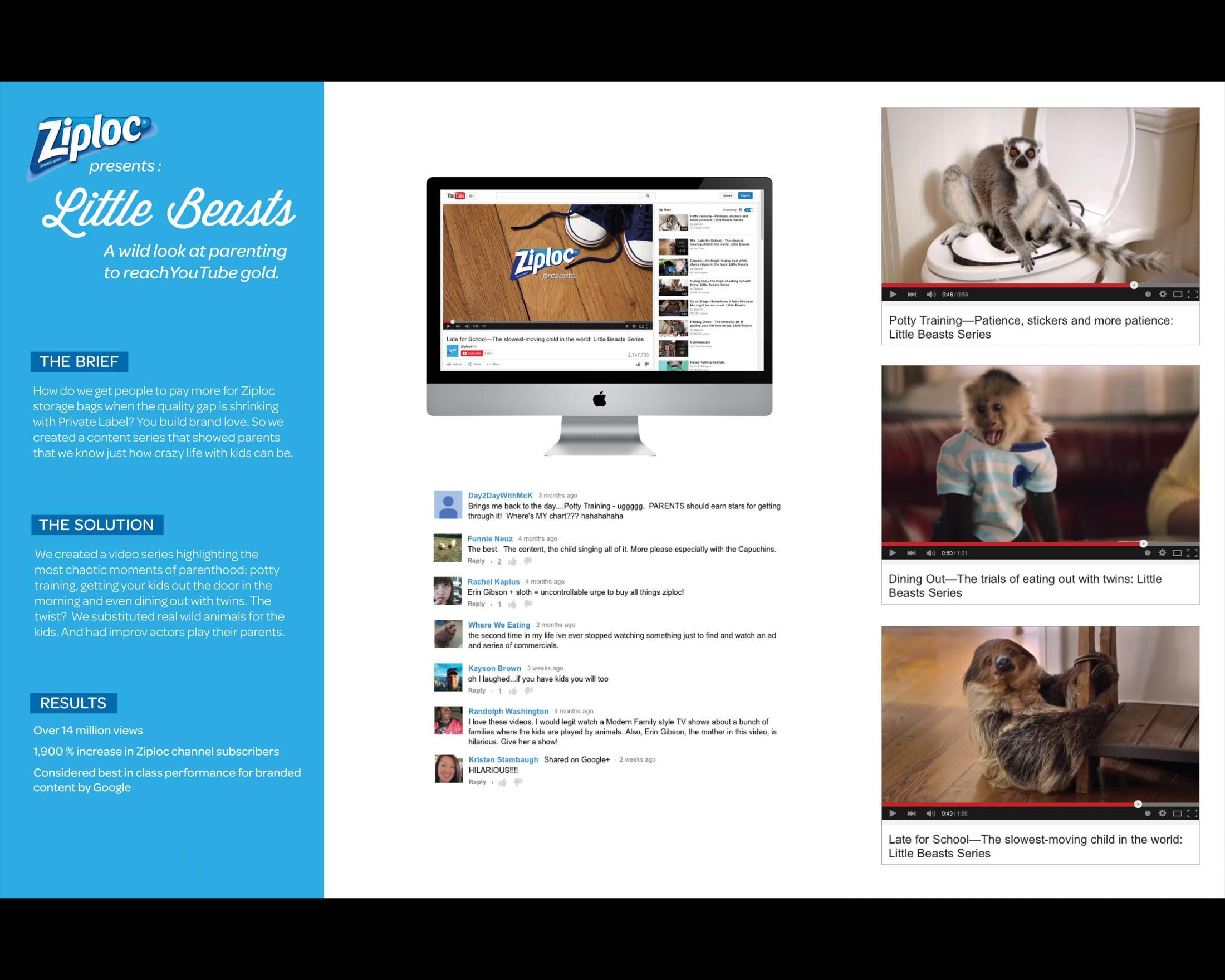Thumbnail for Ziploc Presents: Little Beasts
